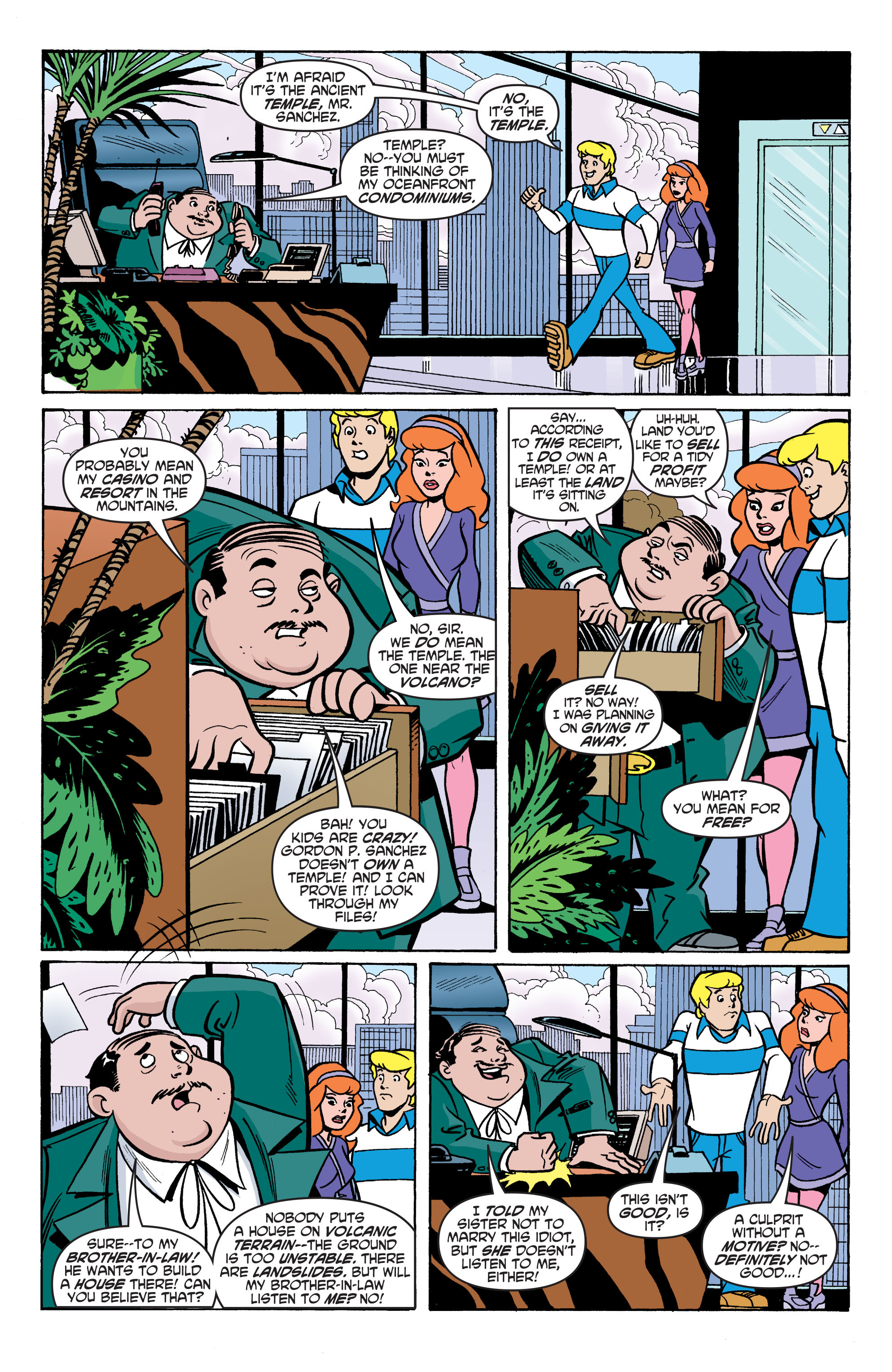 Read online Scooby-Doo: Where Are You? comic -  Issue #75 - 16