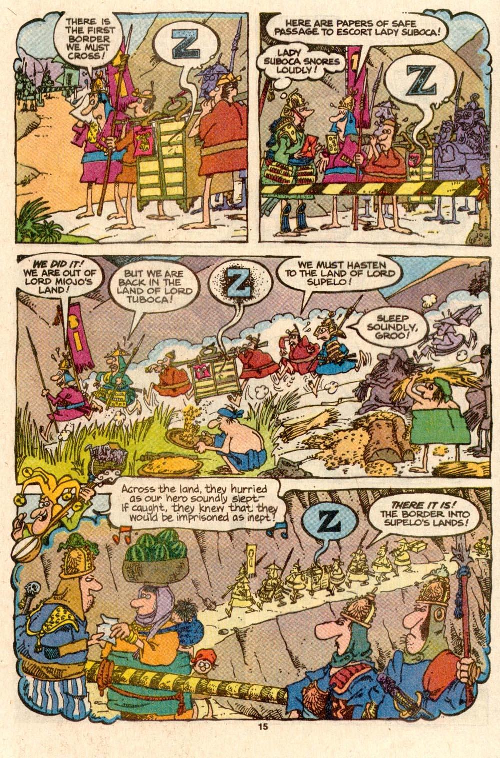 Read online Sergio Aragonés Groo the Wanderer comic -  Issue #56 - 14