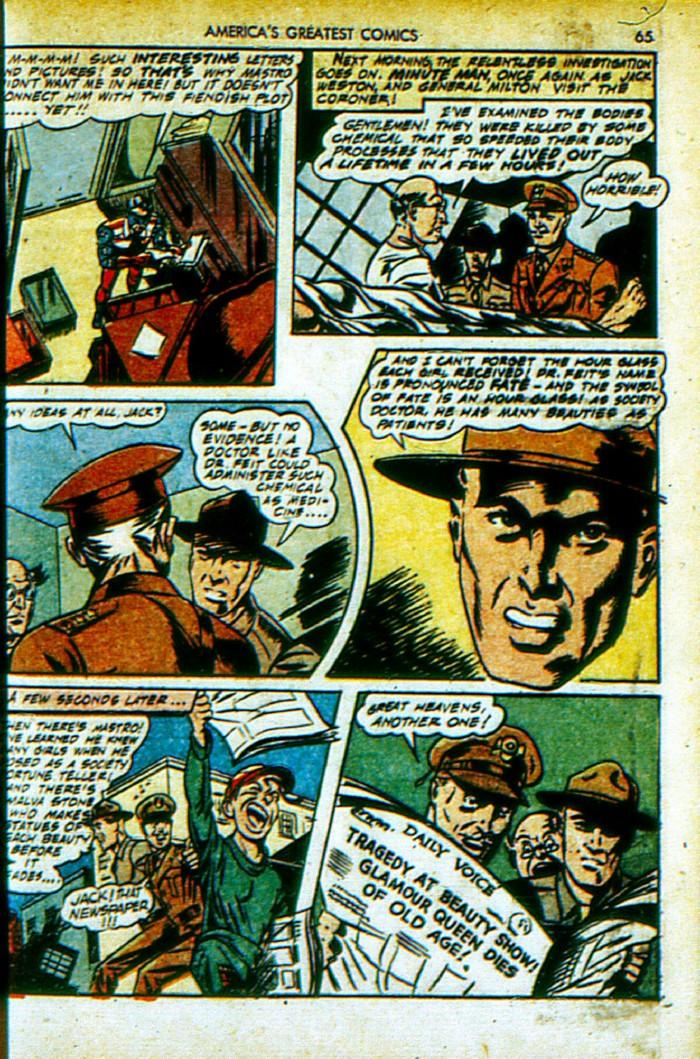 Read online America's Greatest Comics comic -  Issue #4 - 66