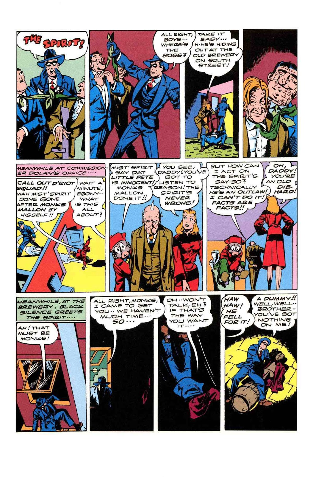Read online Will Eisner's The Spirit Archives comic -  Issue # TPB 3 (Part 2) - 42