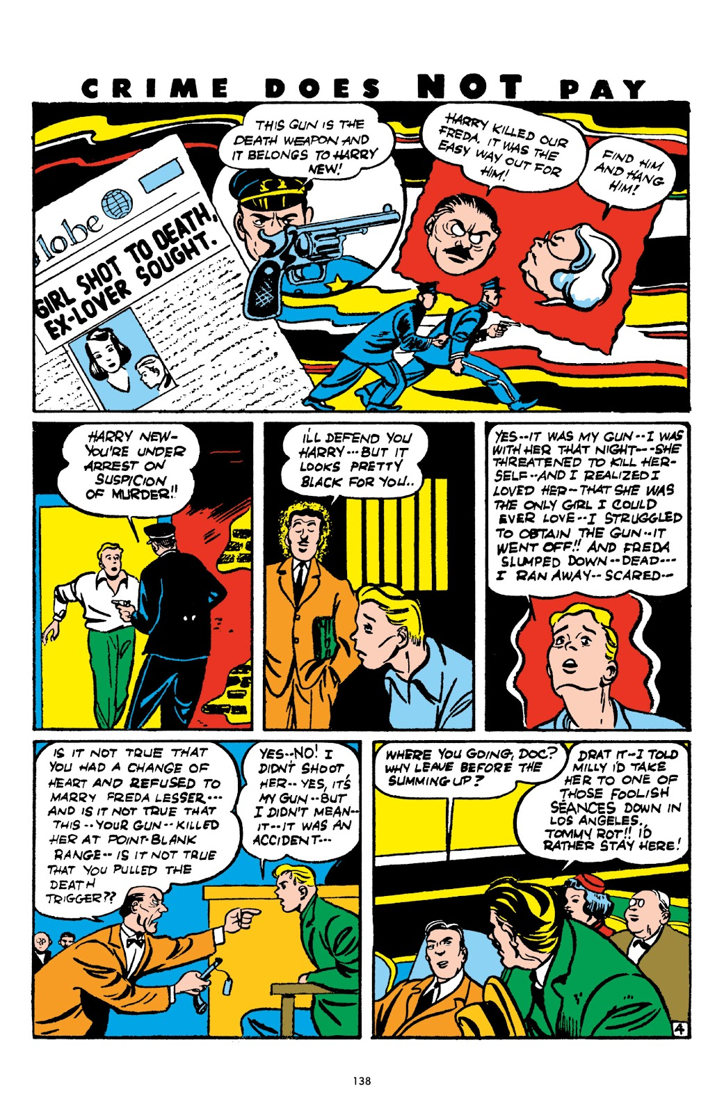 Read online Crime Does Not Pay Archives comic -  Issue # TPB 2 (Part 2) - 38