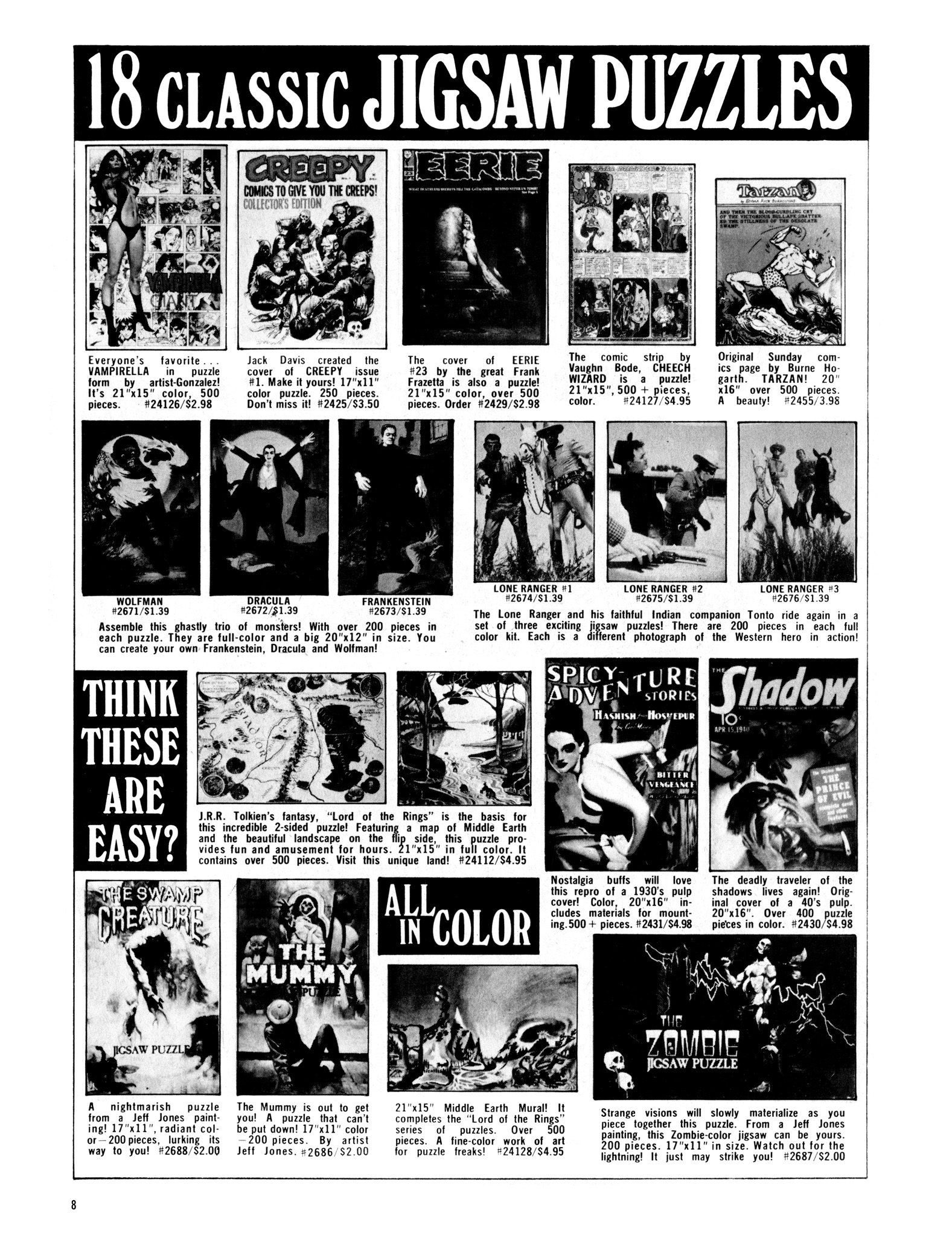 Read online Eerie Archives comic -  Issue # TPB 16 - 9