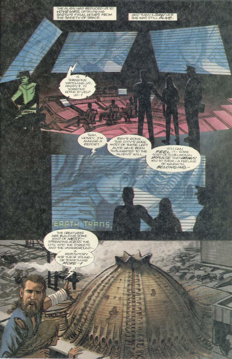 Read online Aliens (1989) comic -  Issue #4 - 25