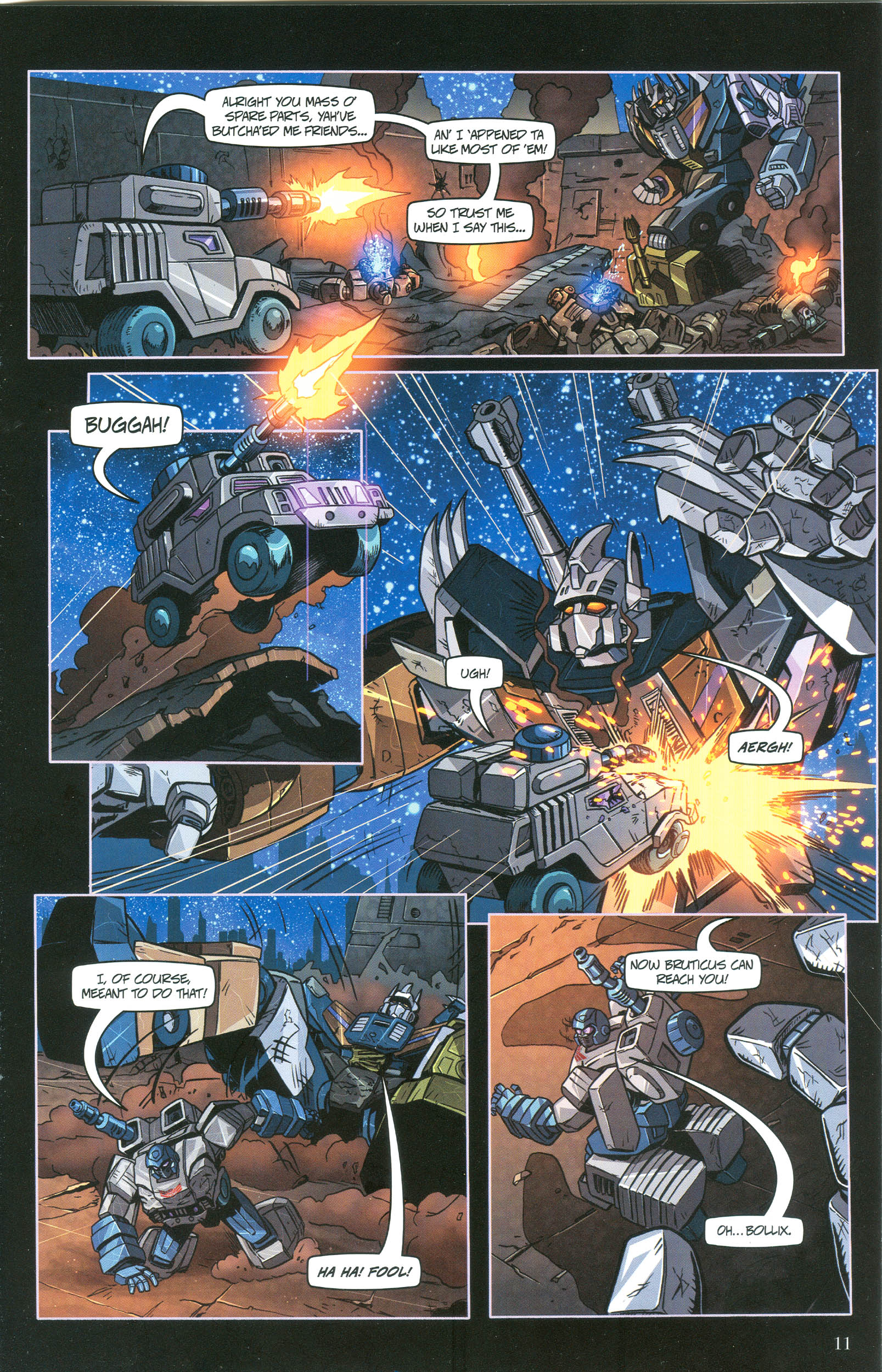 Read online Transformers: Collectors' Club comic -  Issue #36 - 11