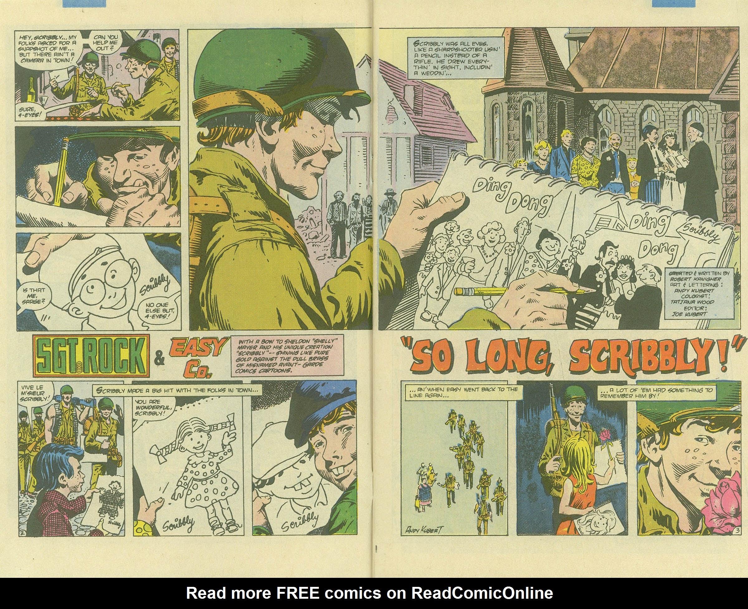 Read online Sgt. Rock comic -  Issue #408 - 4