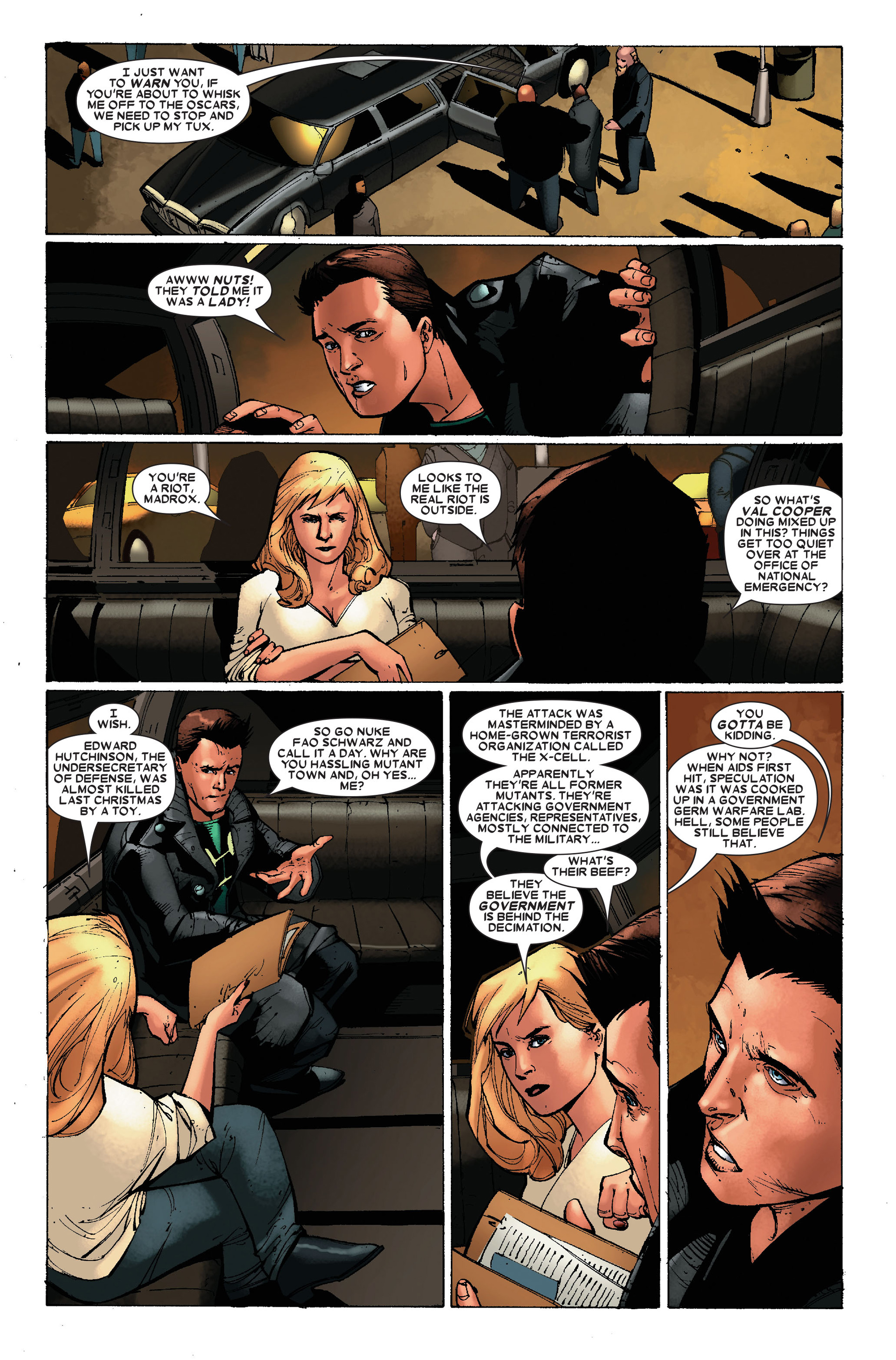 Read online X-Factor (2006) comic -  Issue #17 - 23