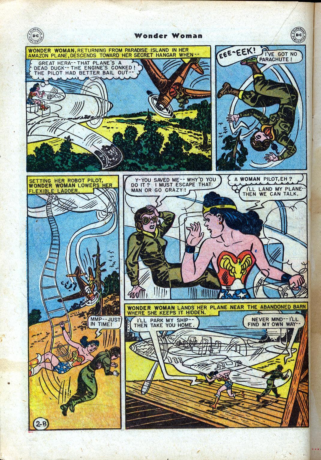 Read online Wonder Woman (1942) comic -  Issue #24 - 22