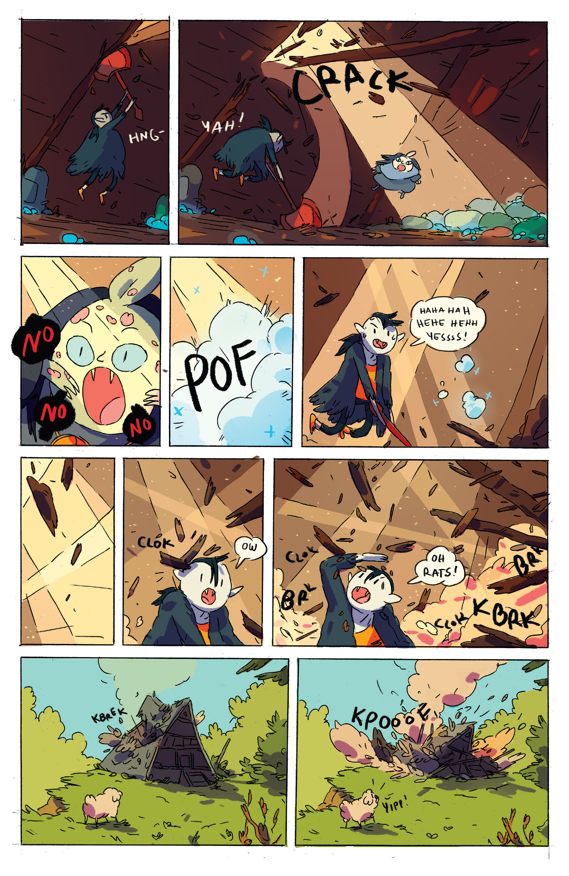 Read online Adventure Time comic -  Issue # _2015 Spoooktacular - 32