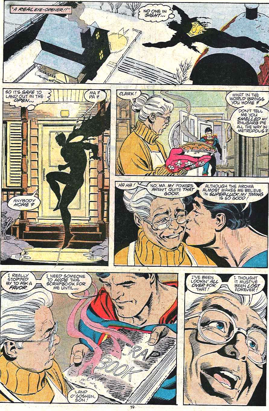Read online Adventures of Superman (1987) comic -  Issue #440 - 20