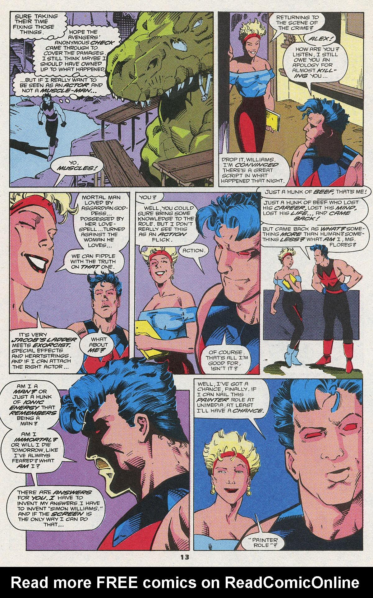 Read online Wonder Man (1991) comic -  Issue #4 - 10
