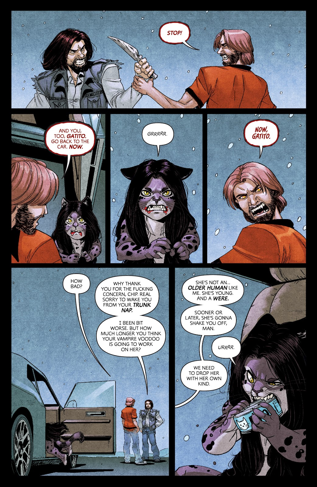 Read online Dark Red comic -  Issue #7 - 7