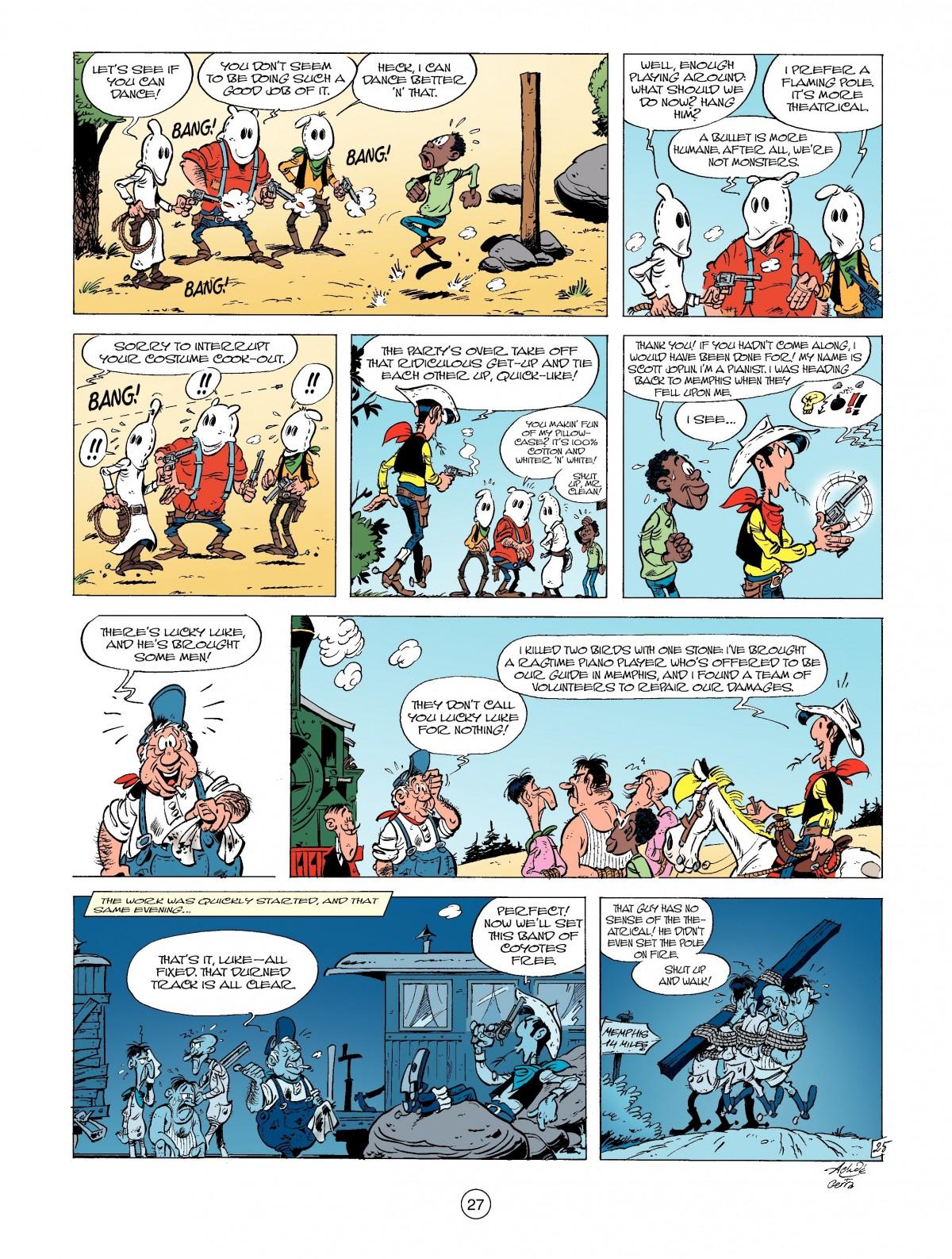 Read online A Lucky Luke Adventure comic -  Issue #39 - 27