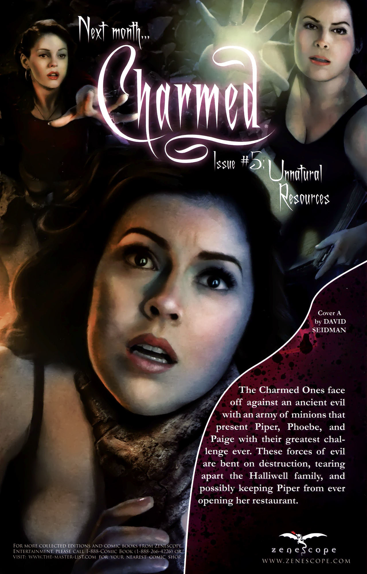Charmed #4 - Read Charmed Issue #4 Page 23