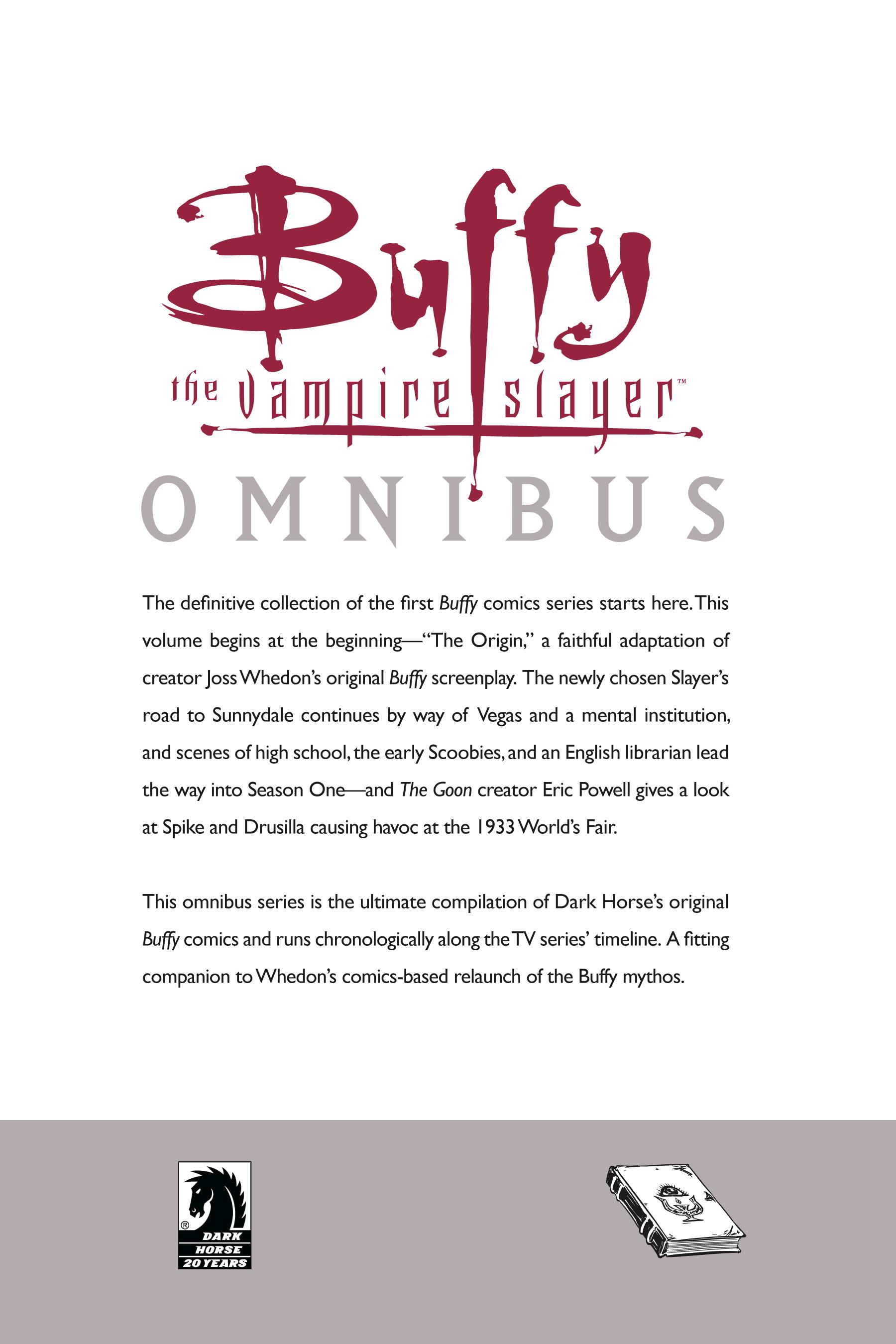 Read online Buffy the Vampire Slayer: Omnibus comic -  Issue # TPB 1 - 307