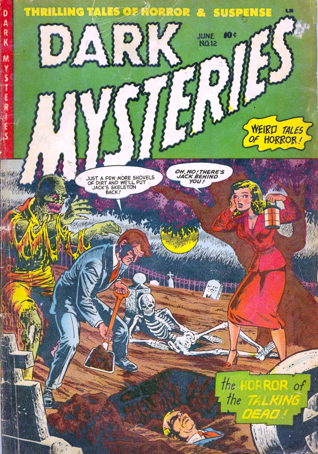 Dark Mysteries 12 Page 1