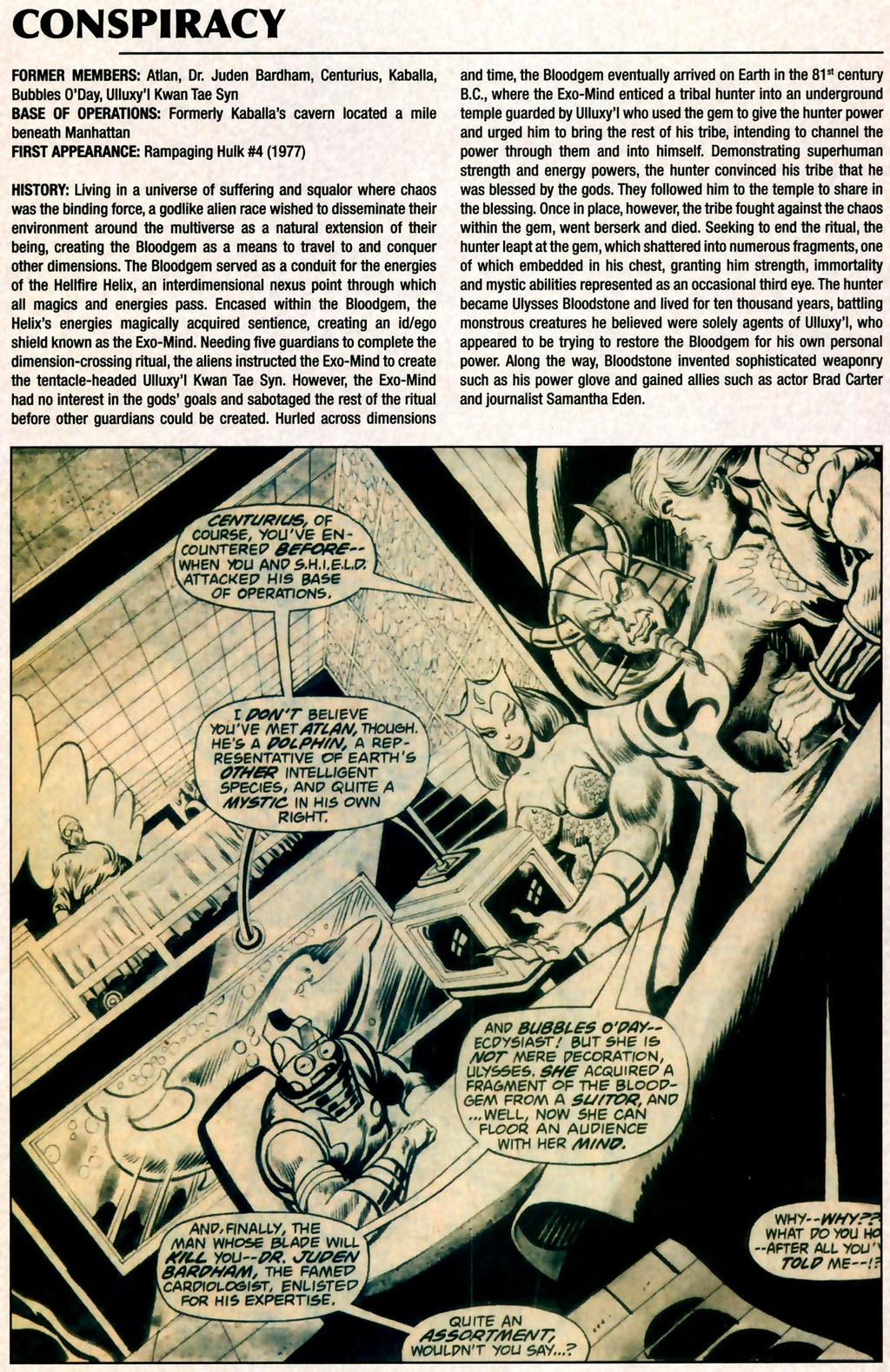 Read online Marvel Legacy: The 1970's Handbook comic -  Issue # Full - 12