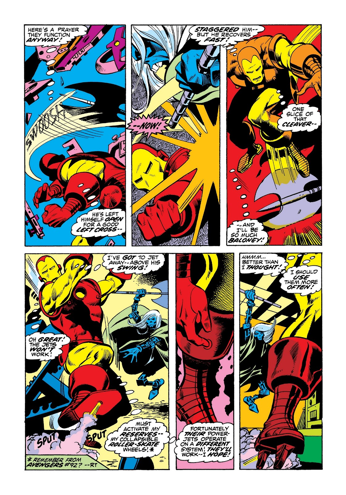 Read online Marvel Masterworks: The Invincible Iron Man comic -  Issue # TPB 8 (Part 3) - 65