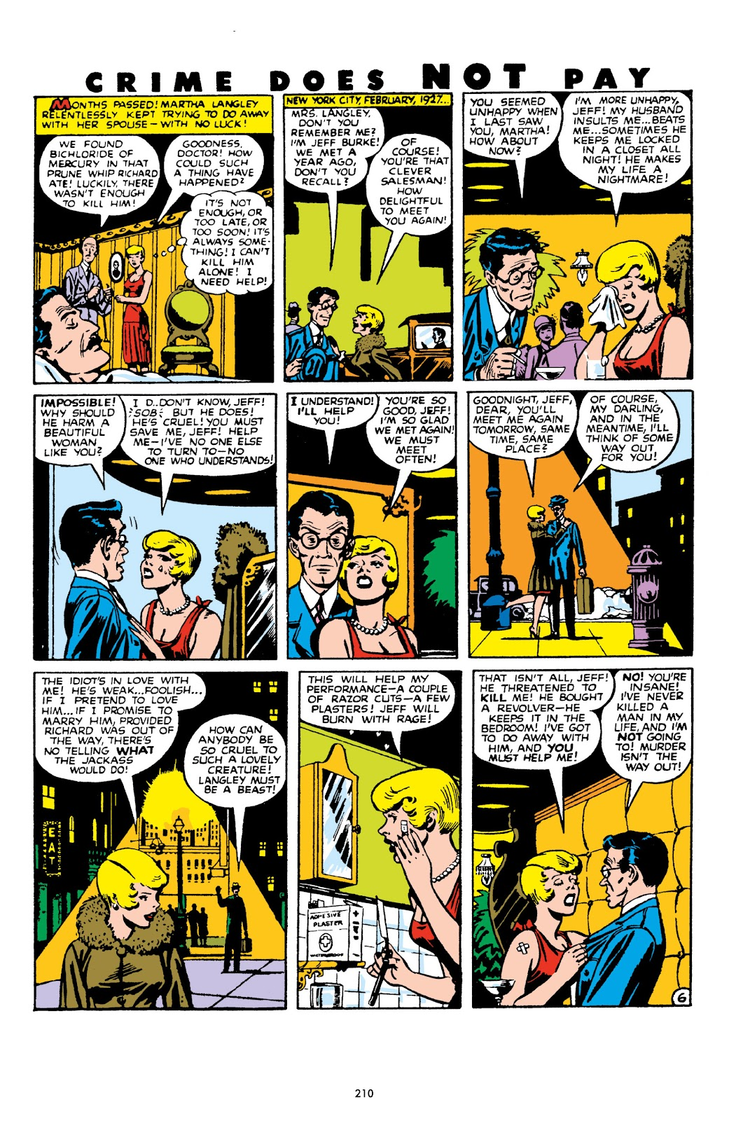 Read online Crime Does Not Pay Archives comic -  Issue # TPB 10 (Part 3) - 11