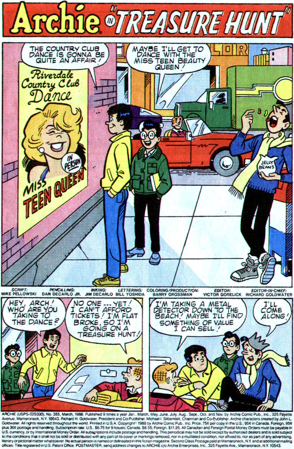 Read online Archie (1960) comic -  Issue #355 - 3