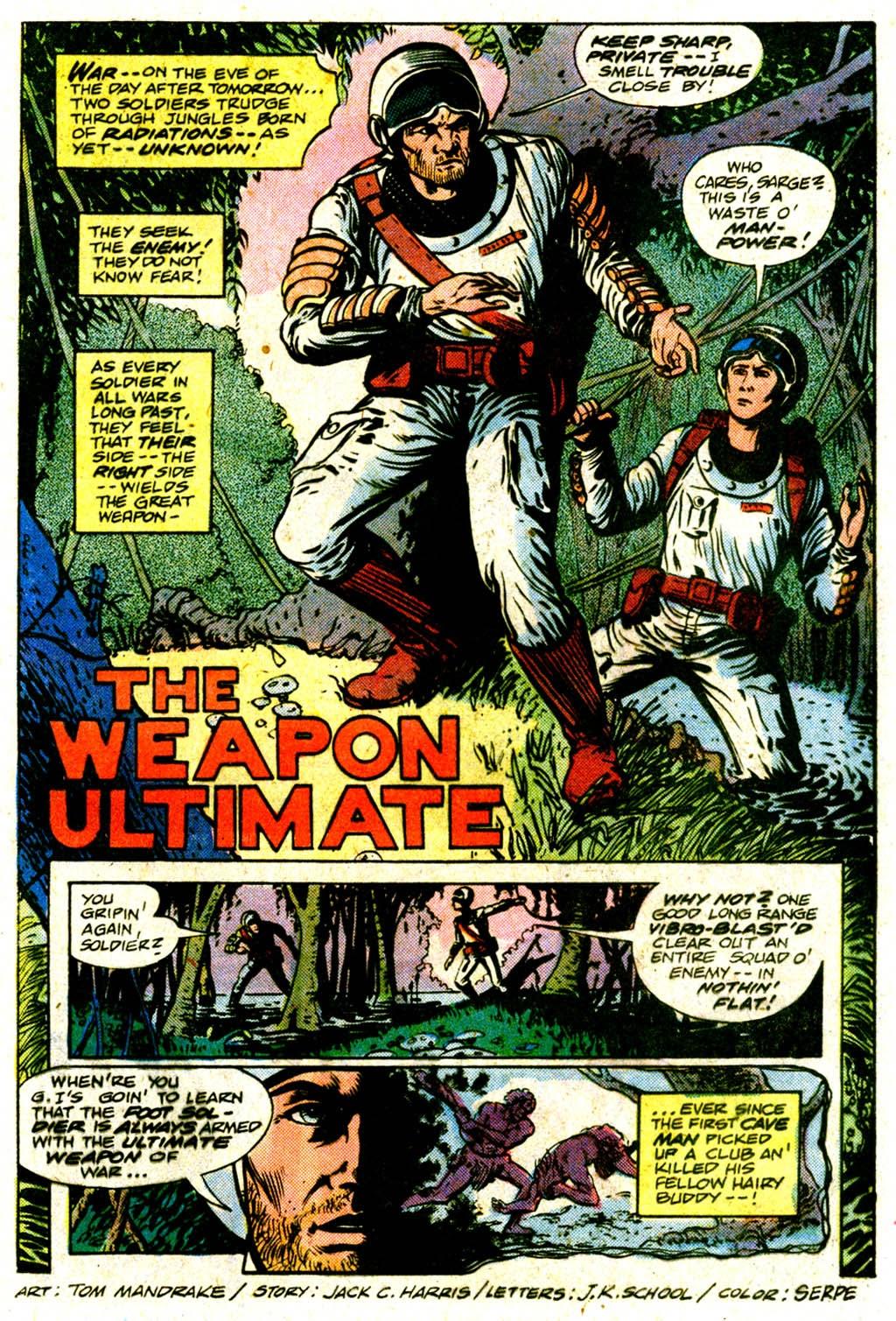 Read online Sgt. Rock comic -  Issue #365 - 20