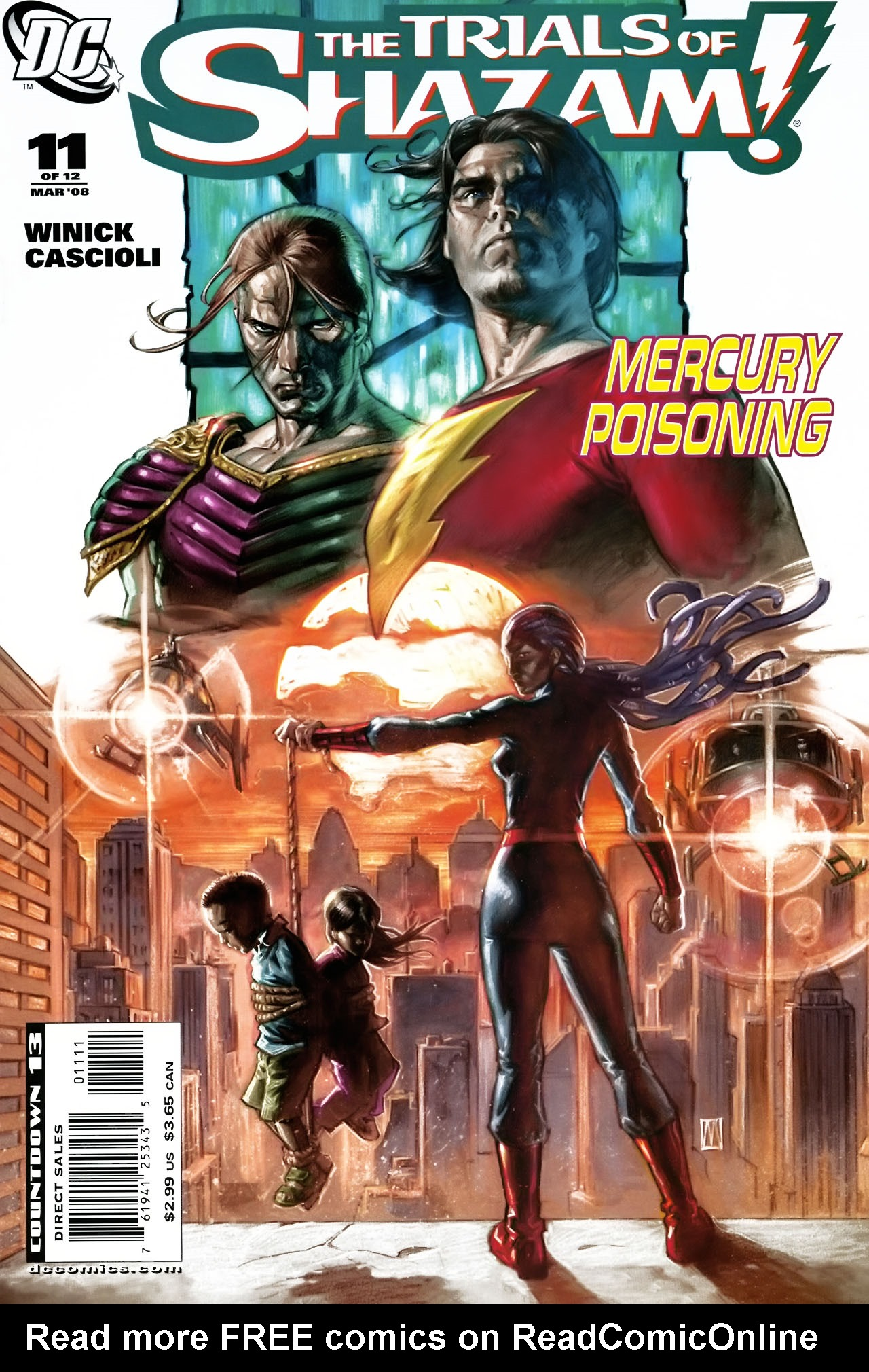 Read online Trials of Shazam comic -  Issue #11 - 1