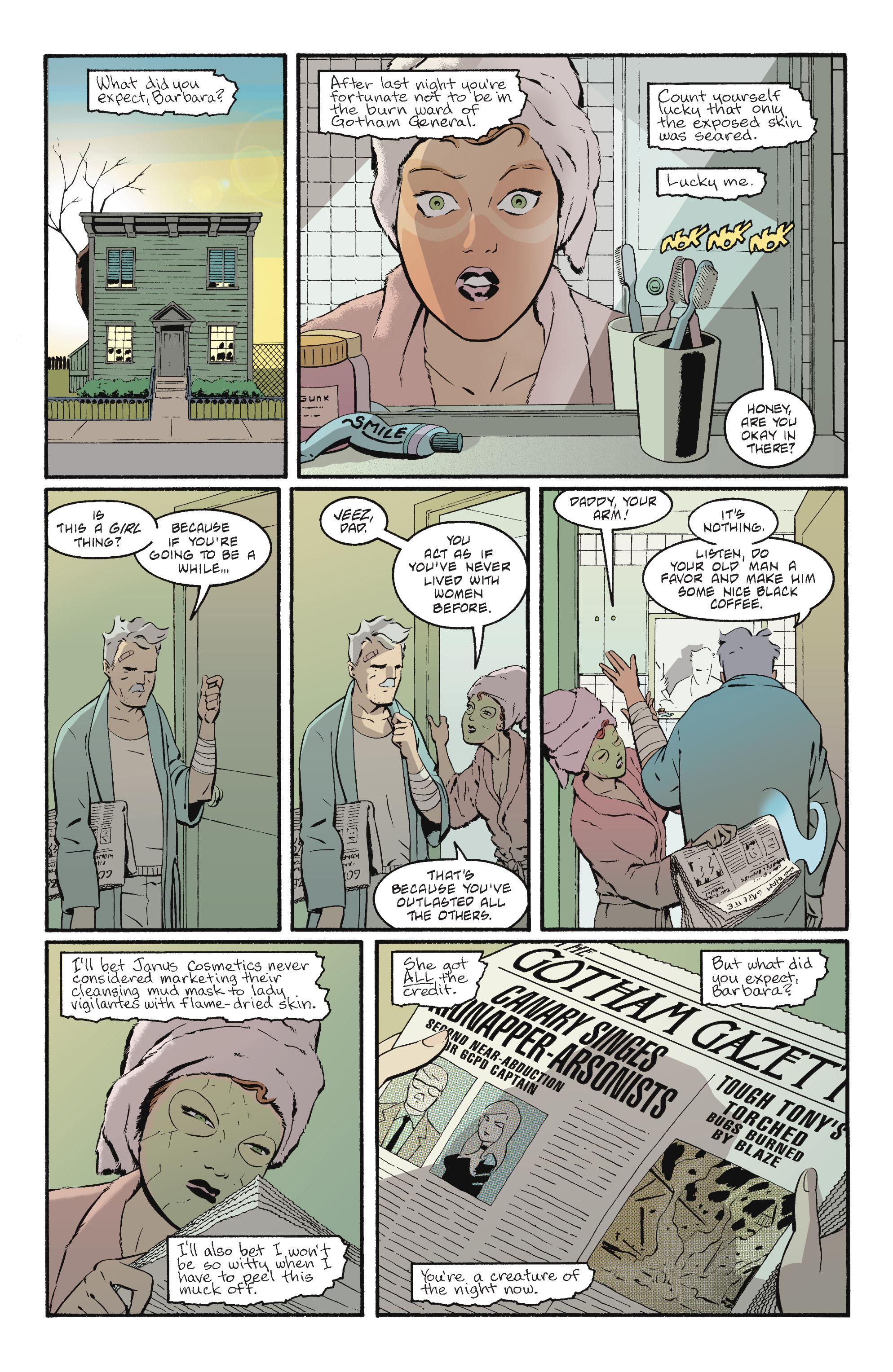 Read online Batgirl/Robin: Year One comic -  Issue # TPB 2 - 141