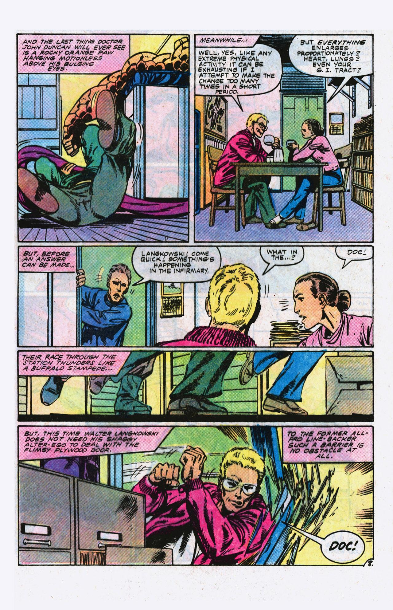 Read online Alpha Flight (1983) comic -  Issue #9 - 9