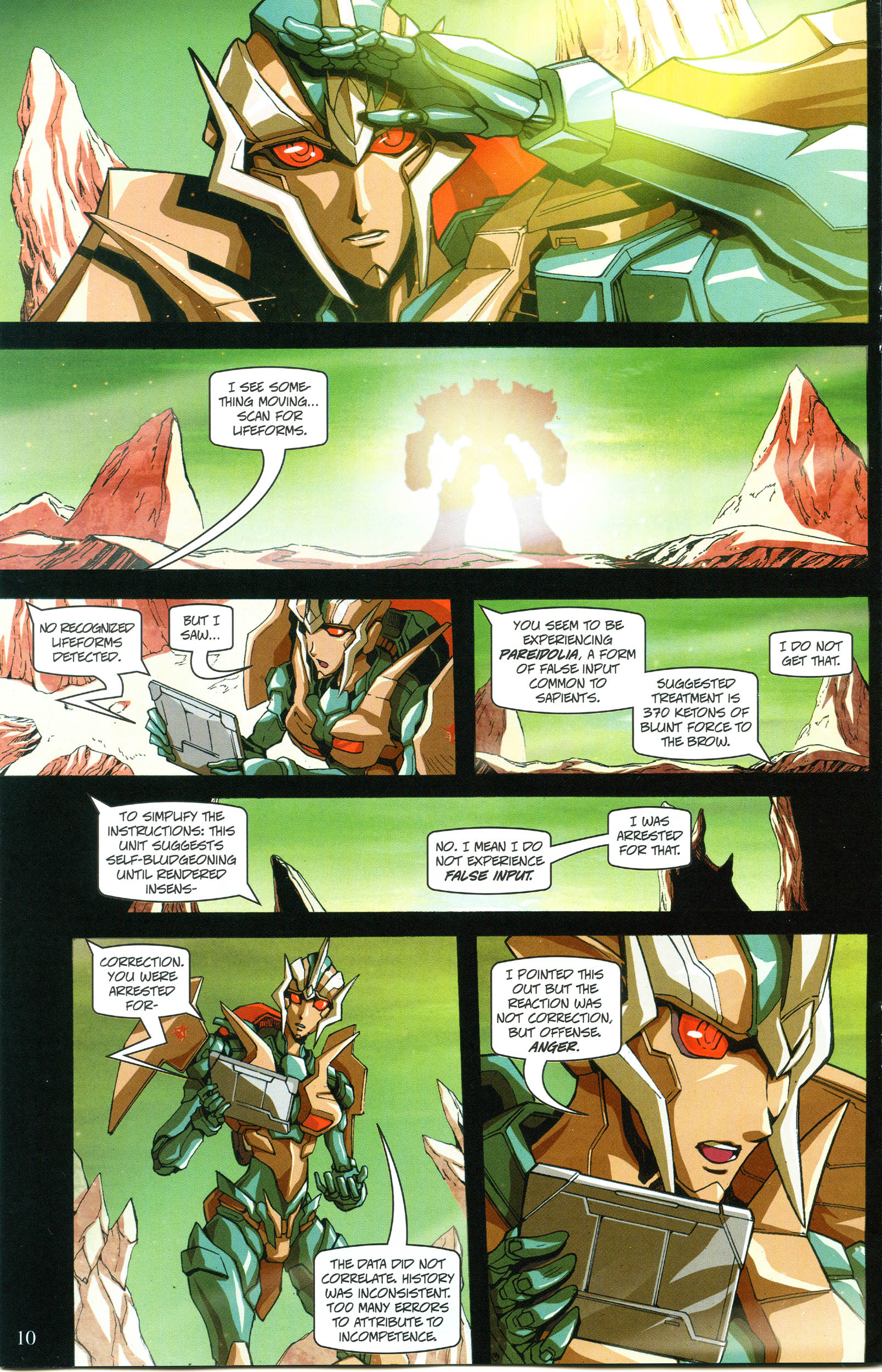 Read online Transformers: Collectors' Club comic -  Issue #57 - 10