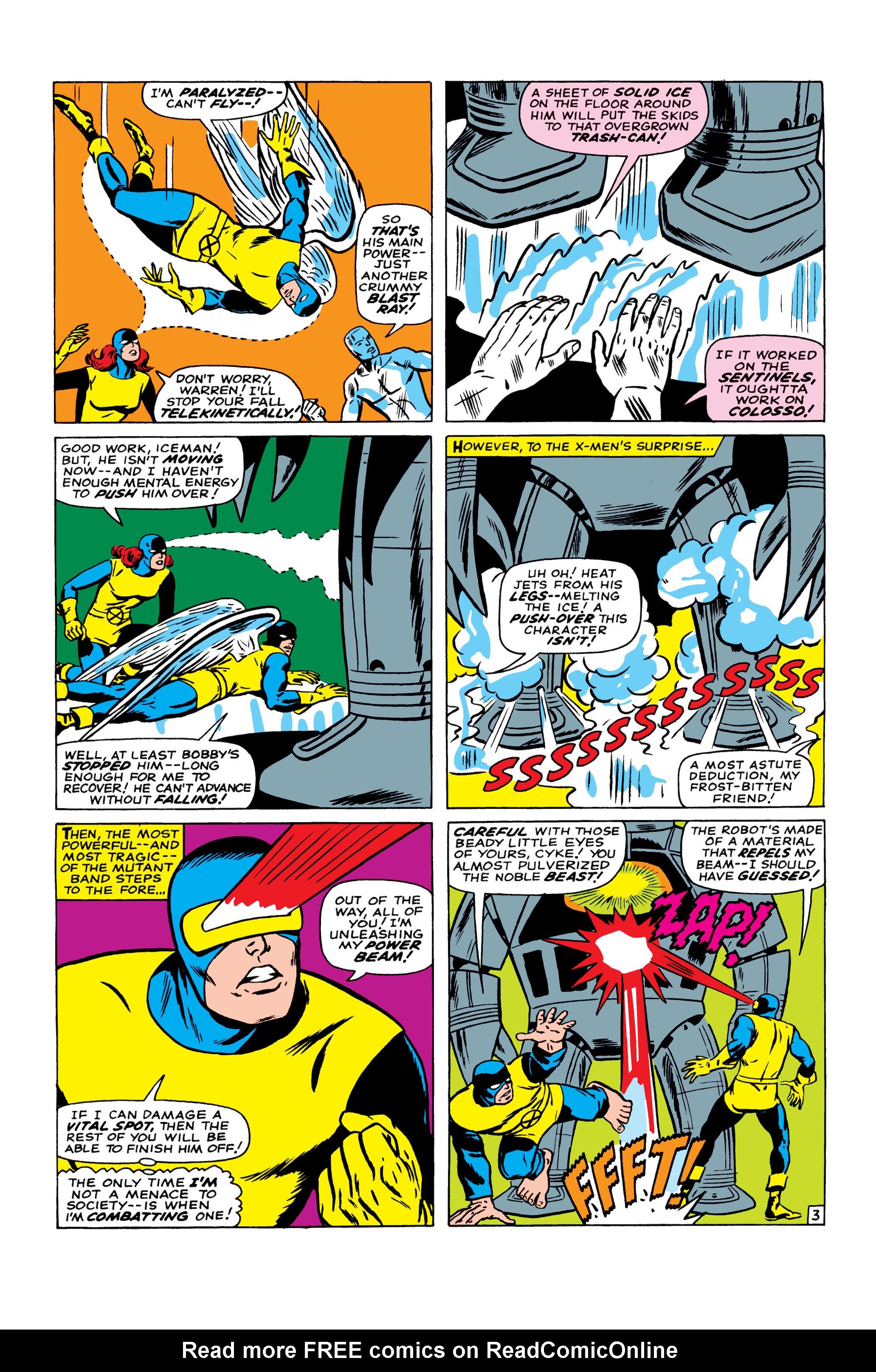 Read online Uncanny X-Men (1963) comic -  Issue #22 - 4