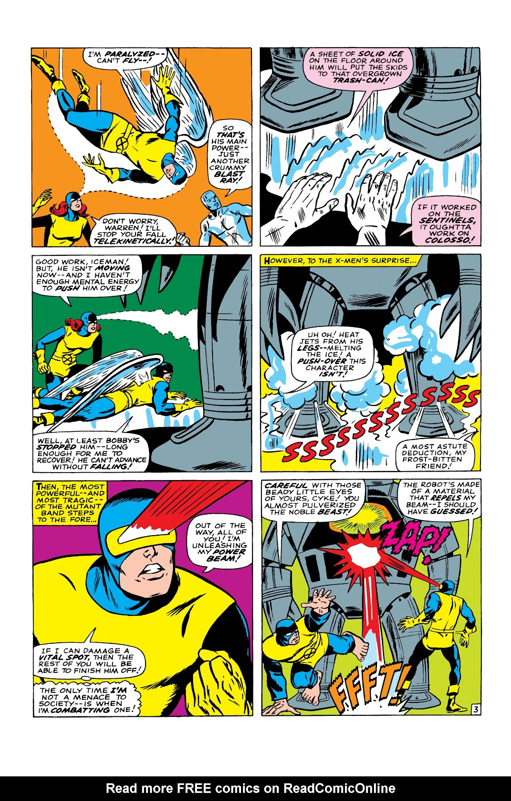 Uncanny X-Men (1963) issue 22 - Page 4