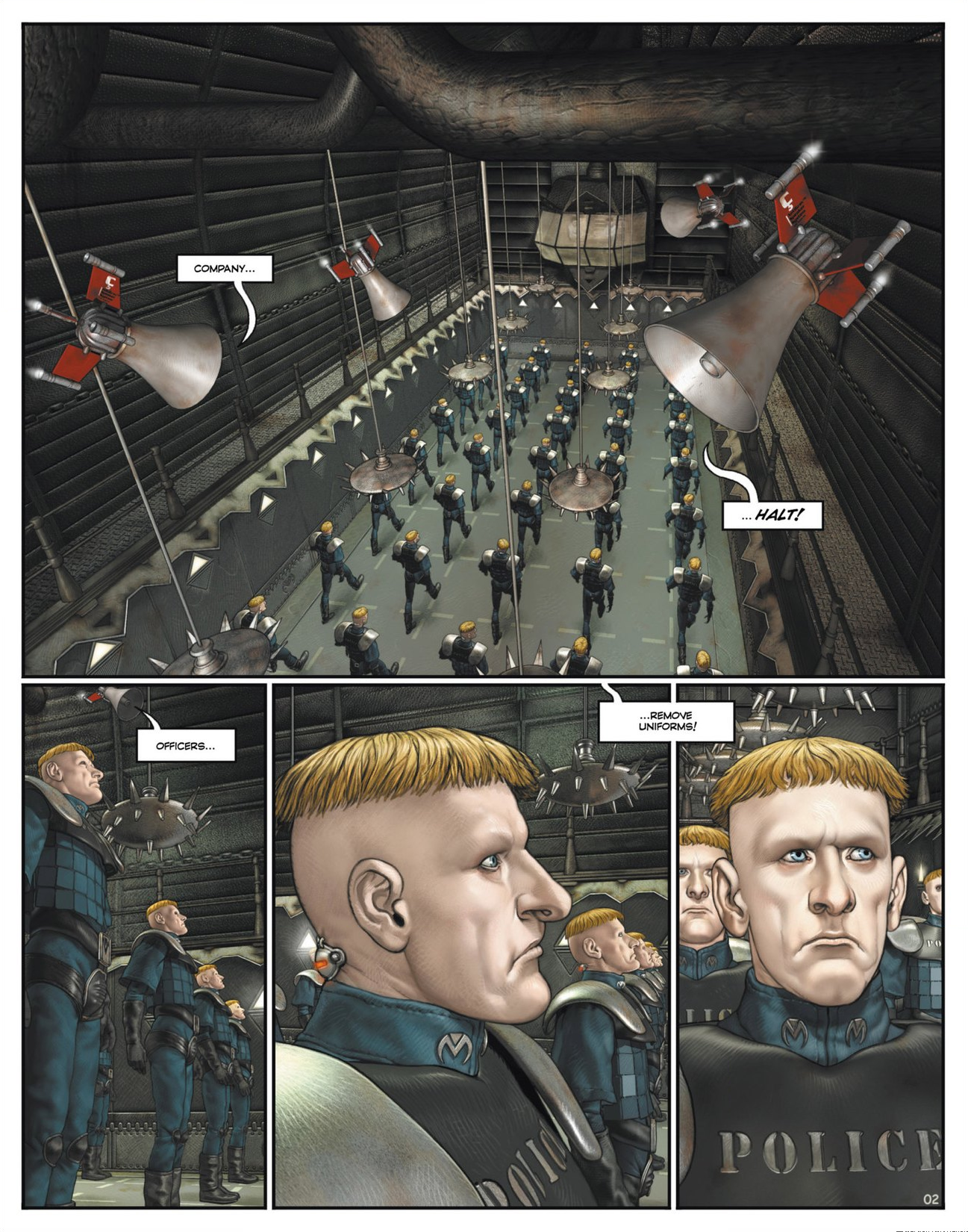 Read online Megalex (2014) comic -  Issue #1 - 7