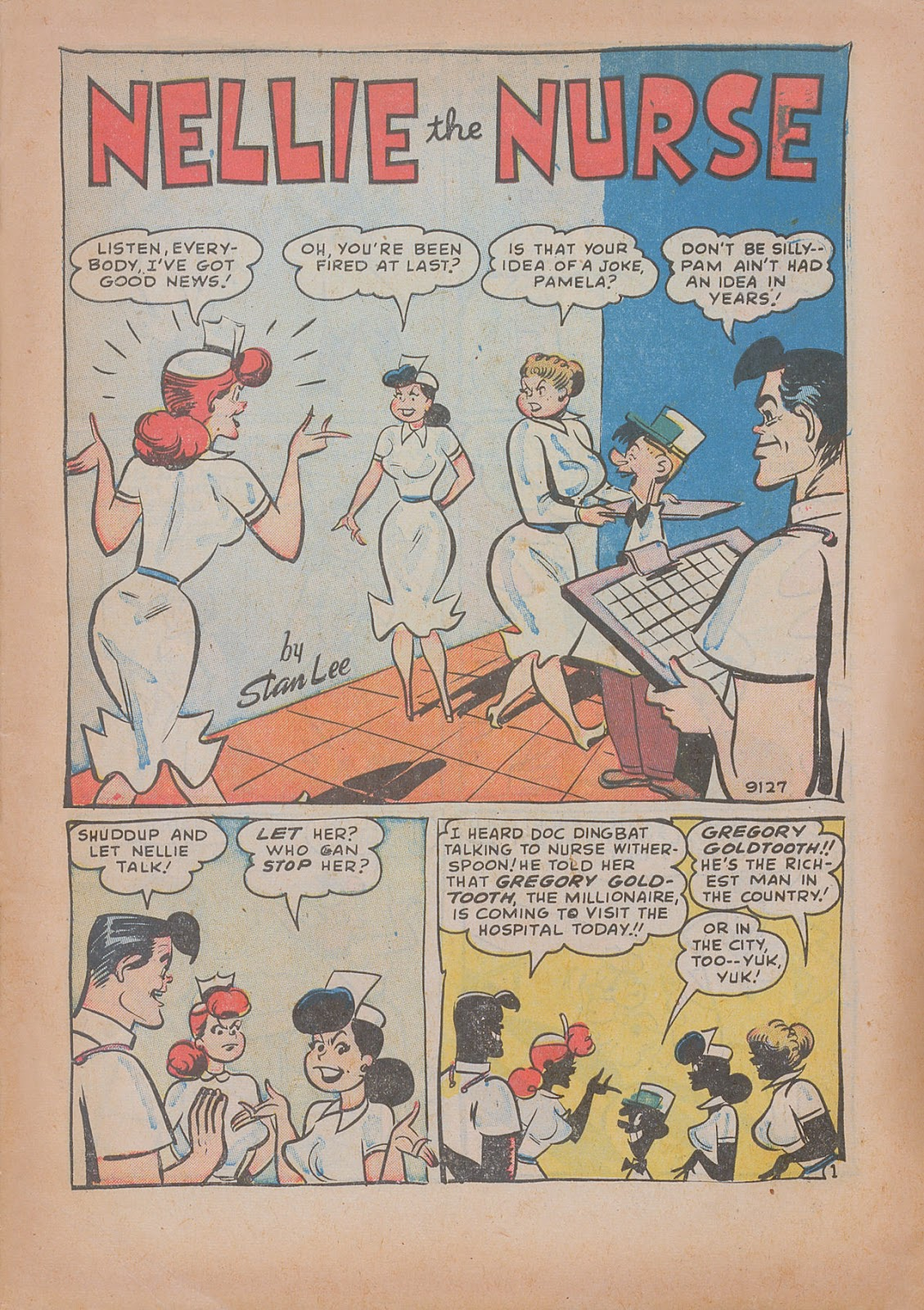 Read online Nellie The Nurse (1945) comic -  Issue #31 - 3