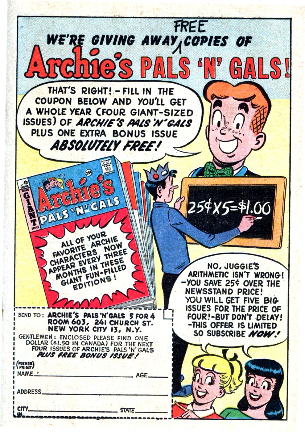 Read online Archie (1960) comic -  Issue #123 - 19
