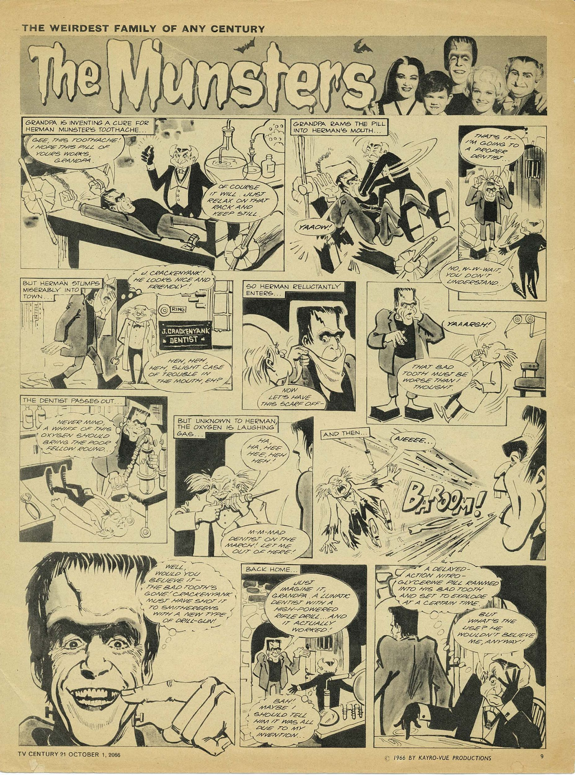 Read online TV Century 21 (TV 21) comic -  Issue #89 - 9
