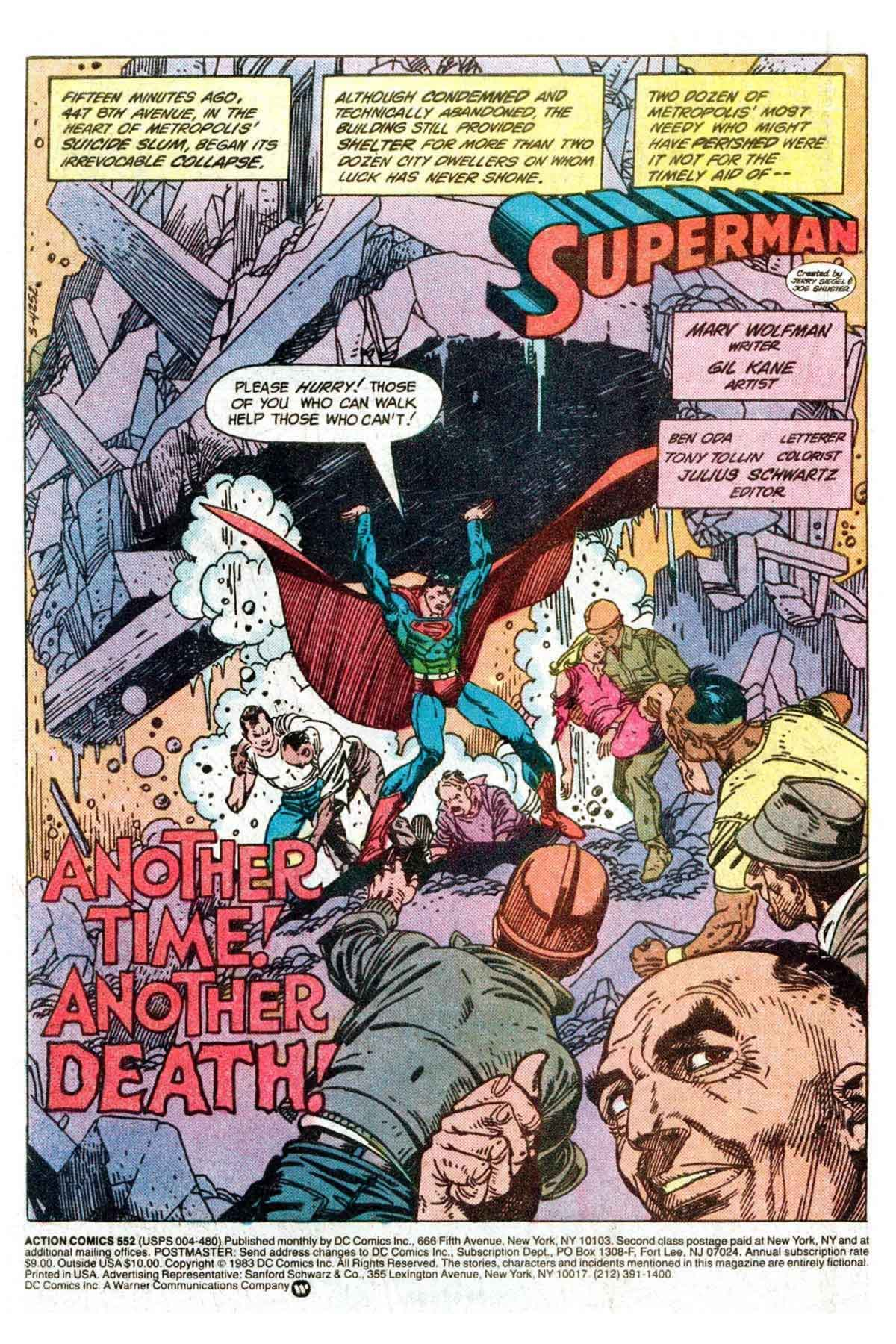 Read online Action Comics (1938) comic -  Issue #552 - 2