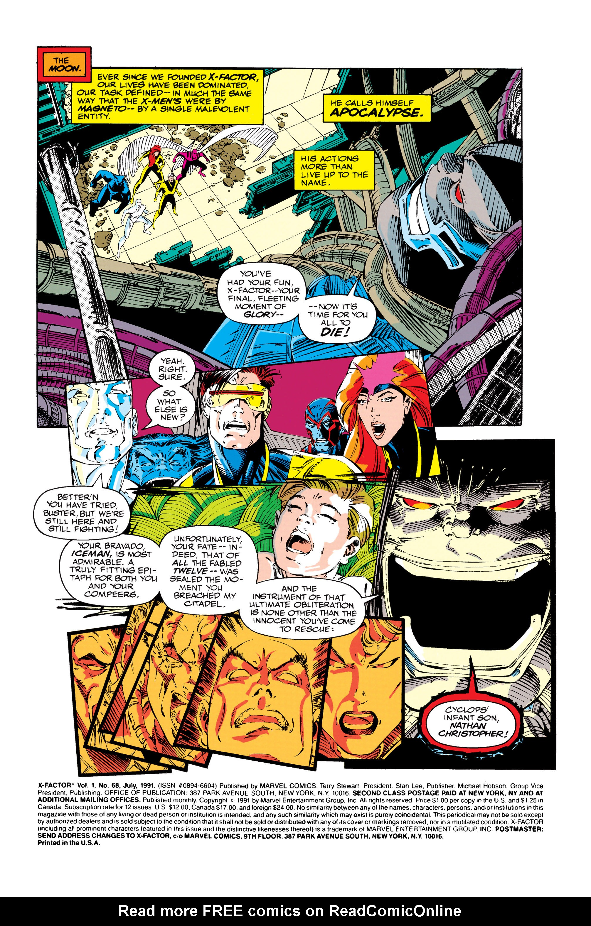 Read online X-Factor (1986) comic -  Issue #68 - 2
