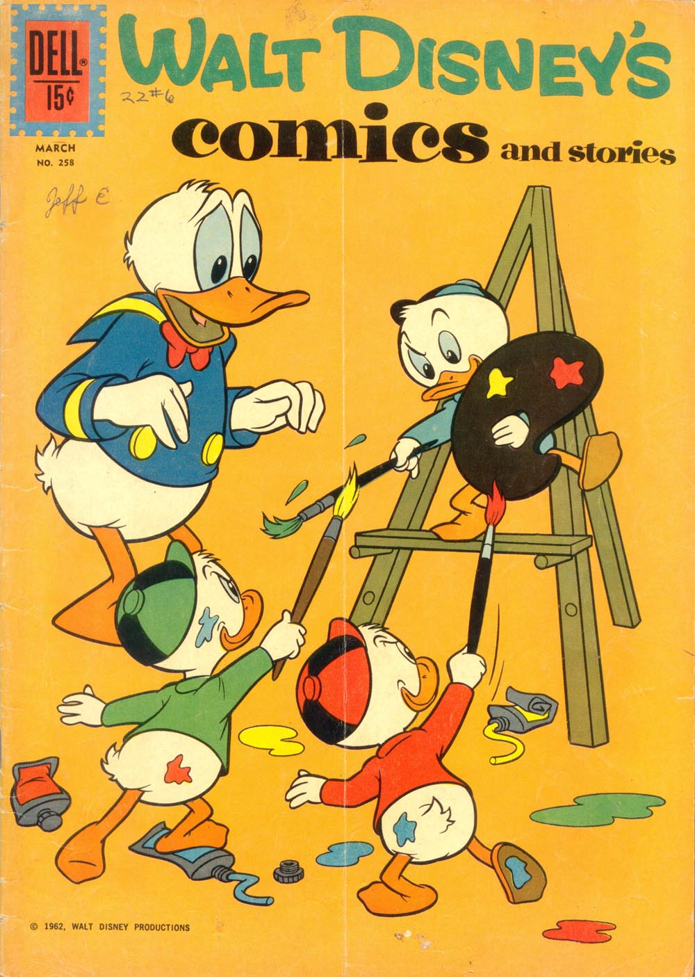 Walt Disney's Comics and Stories issue 258 - Page 1