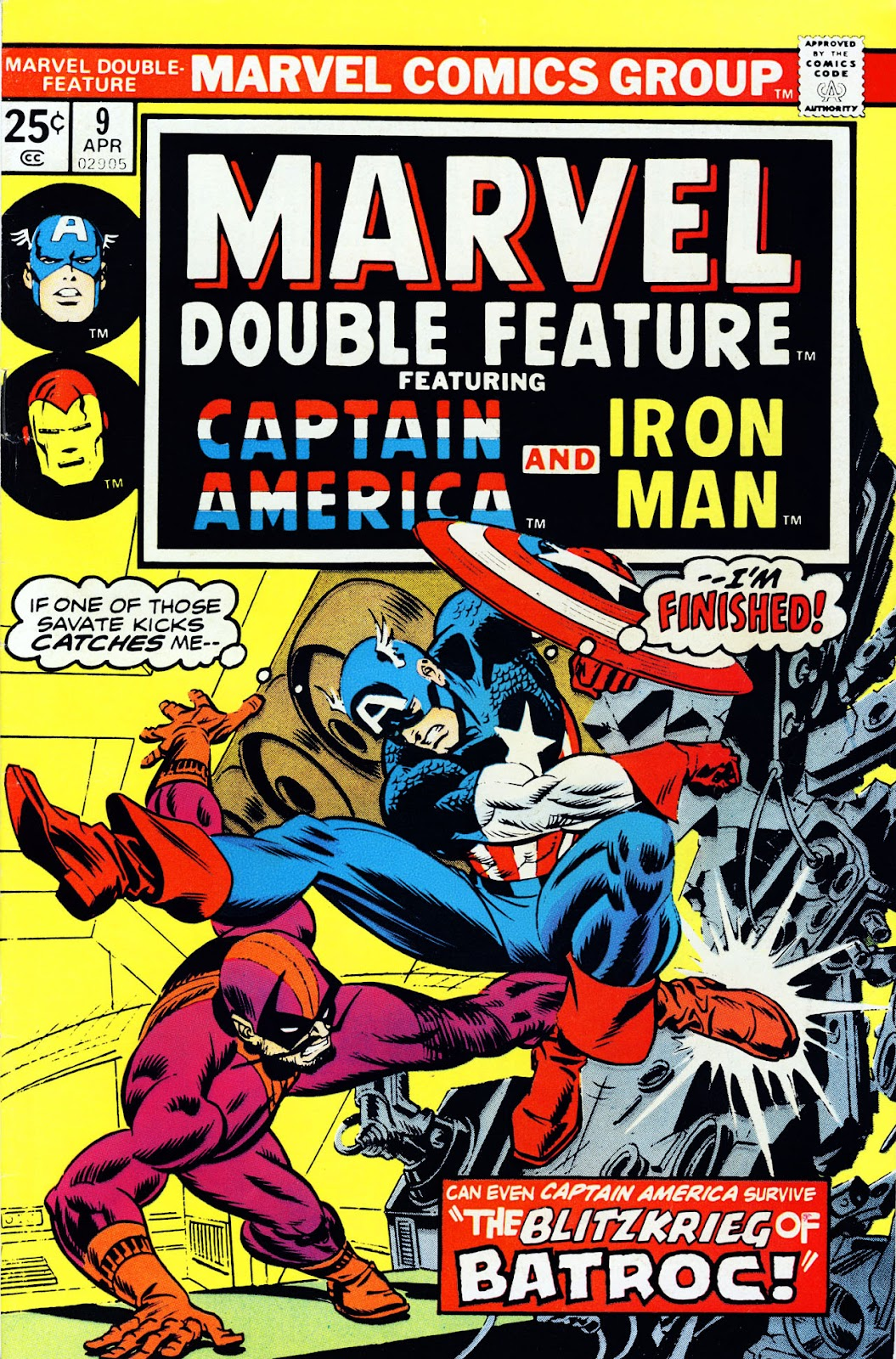 Marvel Double Feature issue 9 - Page 1