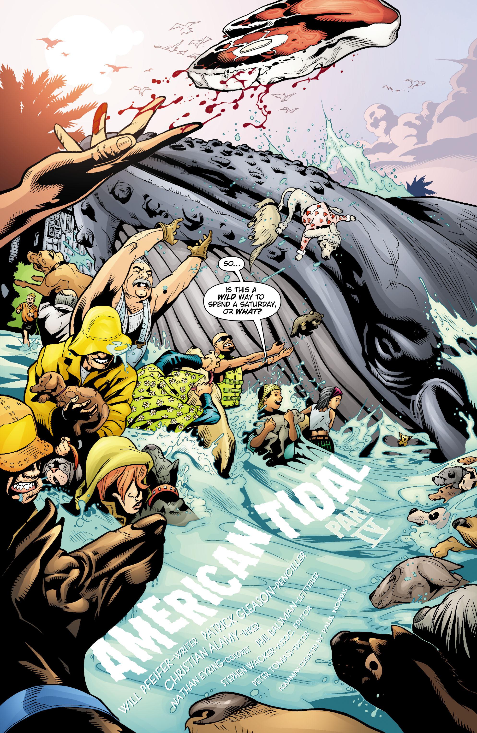 Read online Aquaman (2003) comic -  Issue #18 - 3