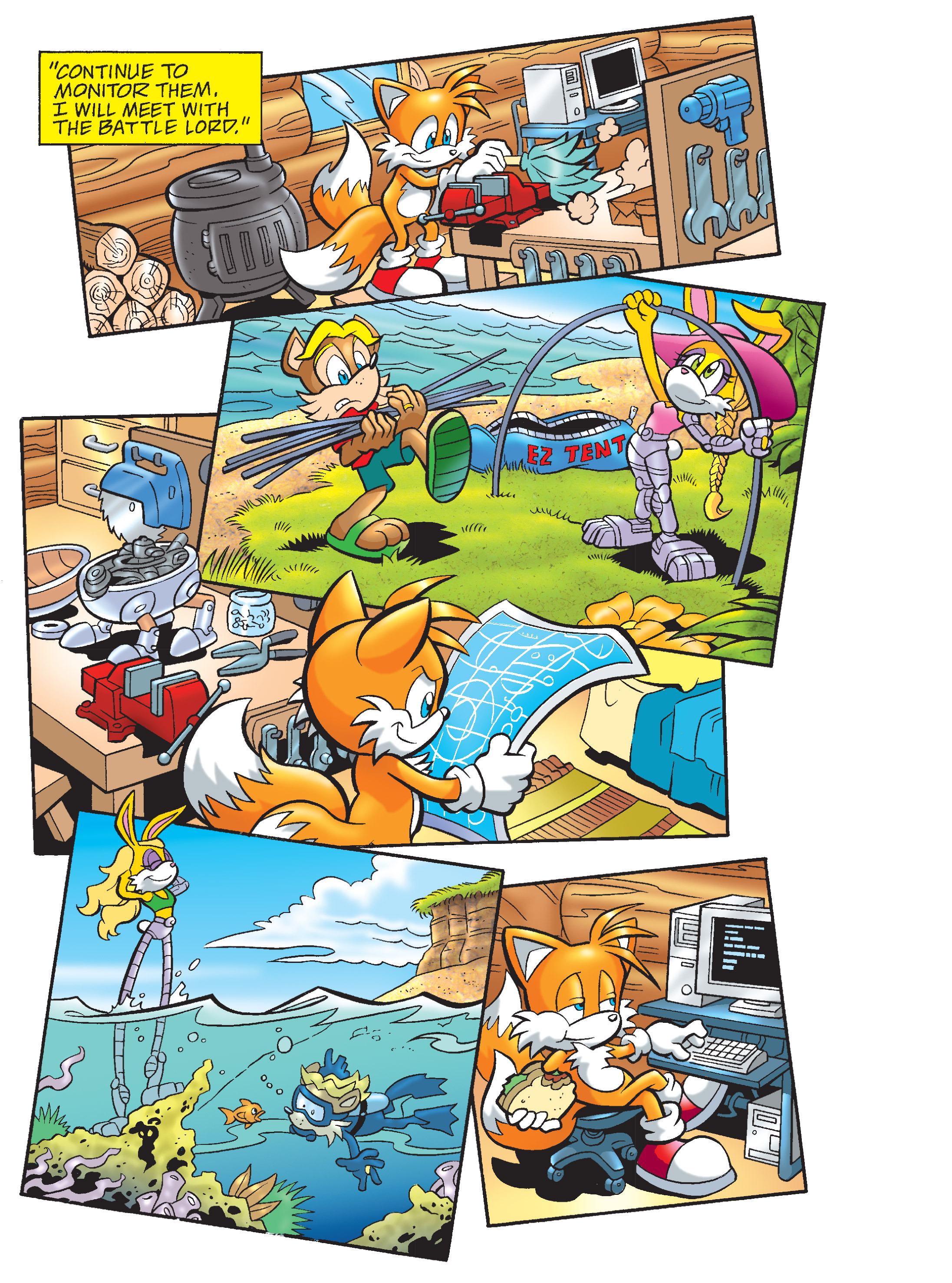 Read online Sonic Super Digest comic -  Issue #8 - 37