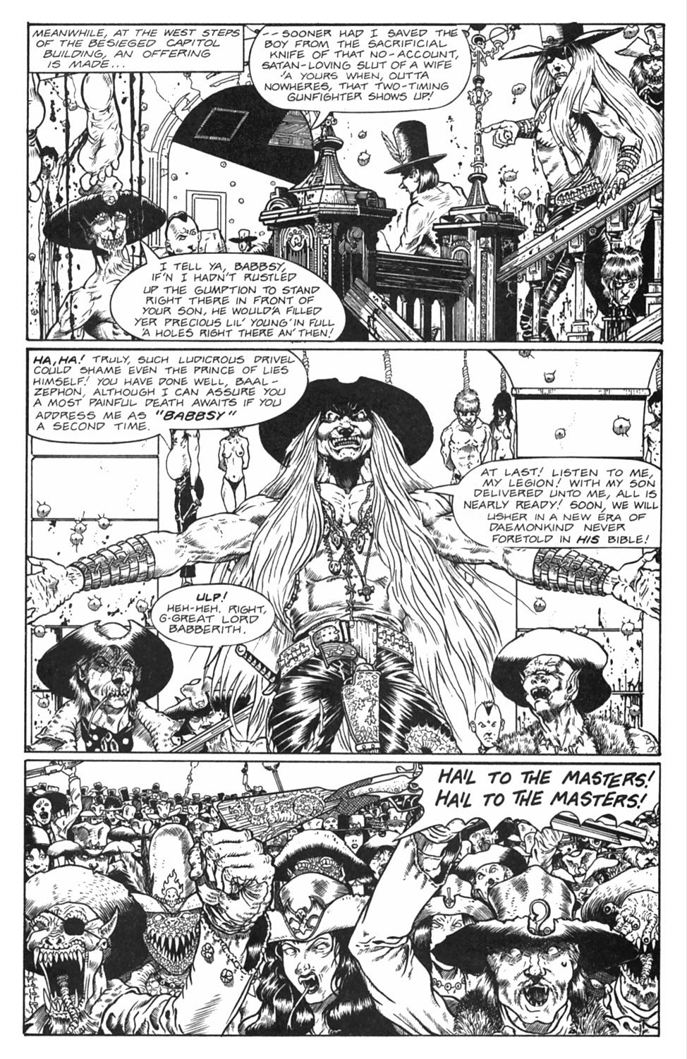 Read online Gunfighters in Hell comic -  Issue #5 - 12