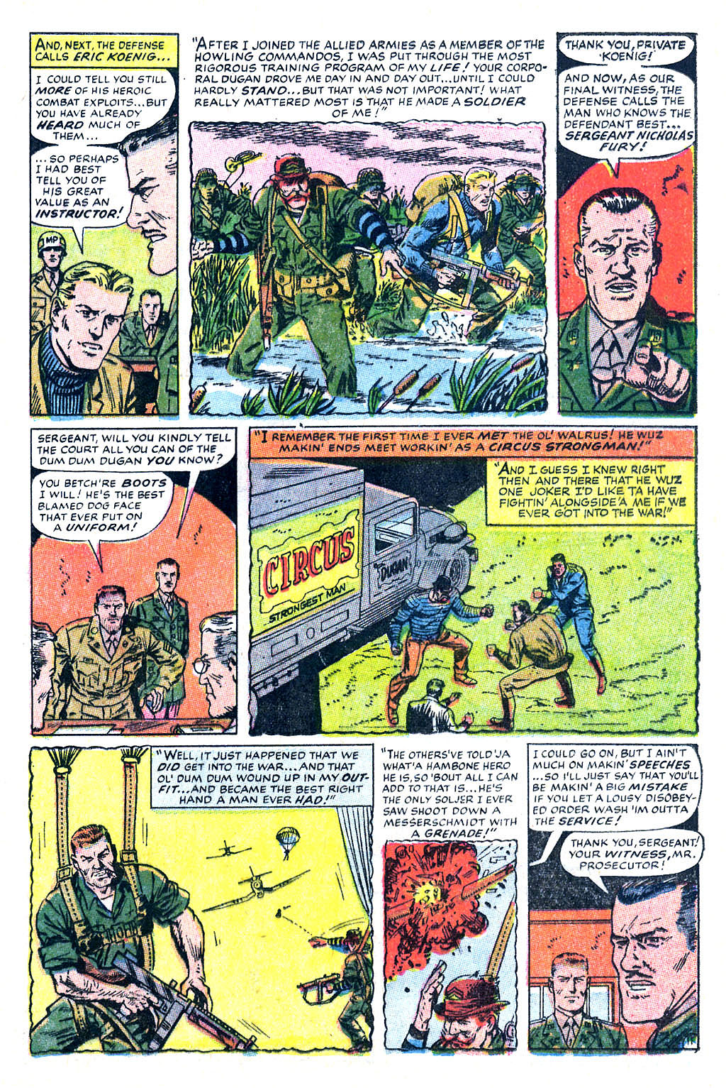 Read online Sgt. Fury comic -  Issue #60 - 17