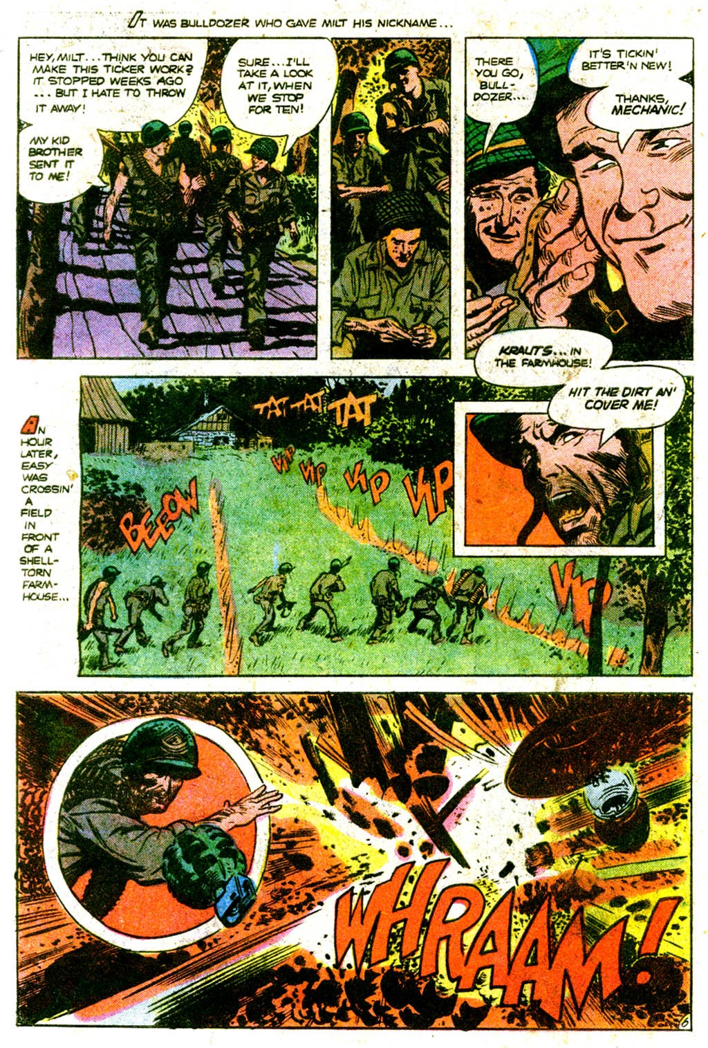 Read online Sgt. Rock comic -  Issue #313 - 9