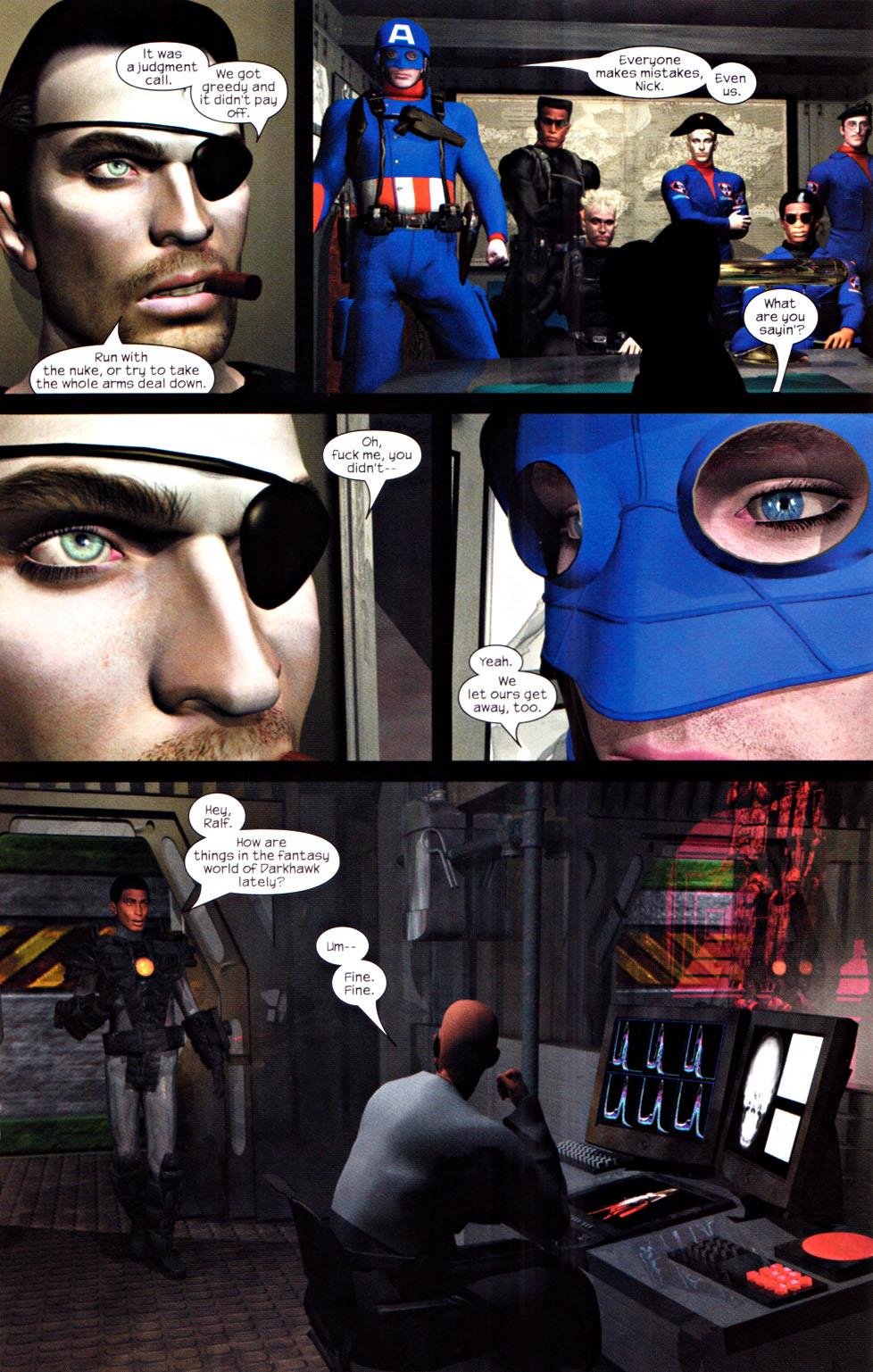 Read online U.S. War Machine 2.0 comic -  Issue #2 - 12