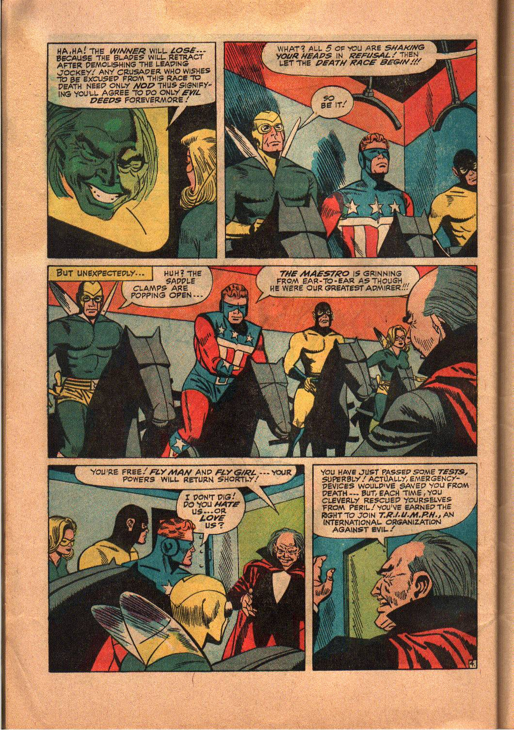 The Mighty Crusaders (1965) Issue #6 #6 - English 24