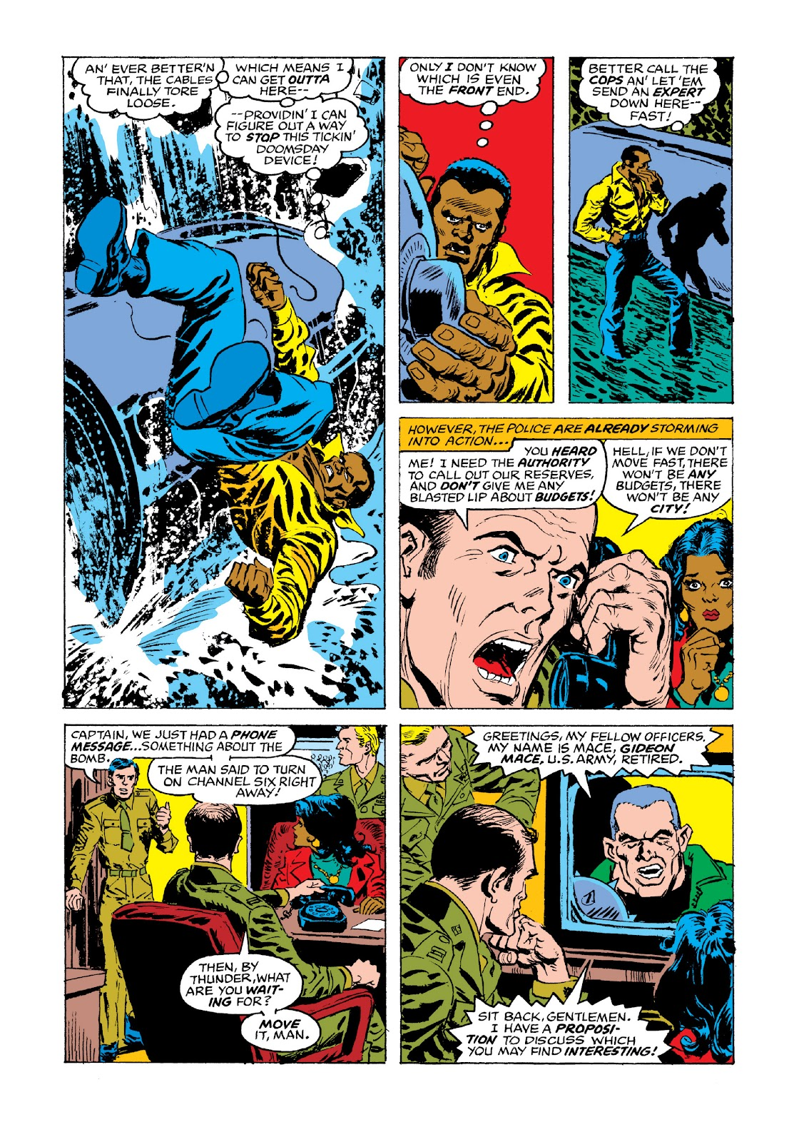 Read online Marvel Masterworks: Luke Cage, Power Man comic -  Issue # TPB 3 (Part 3) - 69