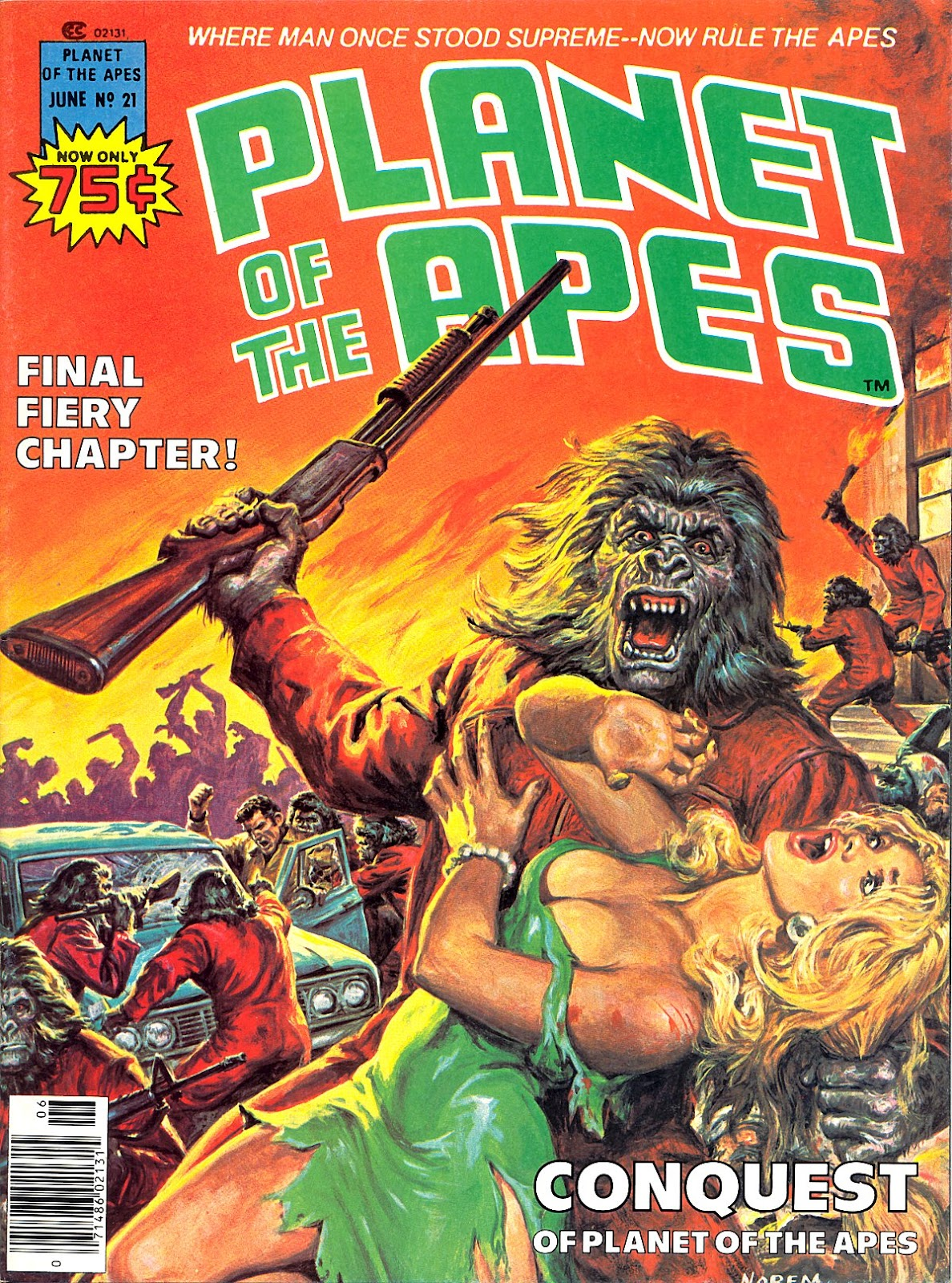 Planet of the Apes (1974) 21 Page 1