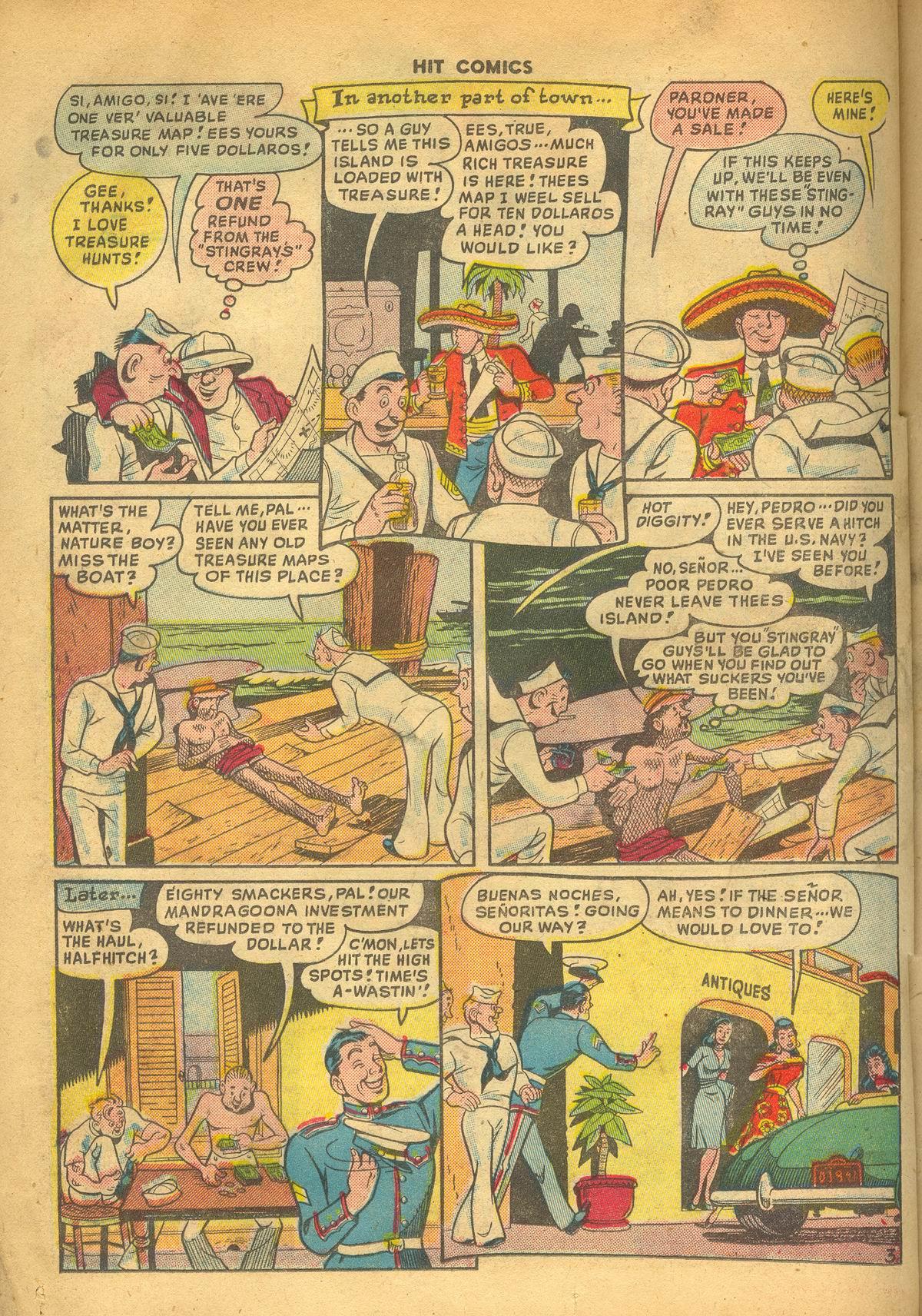Read online Hit Comics comic -  Issue #60 - 24