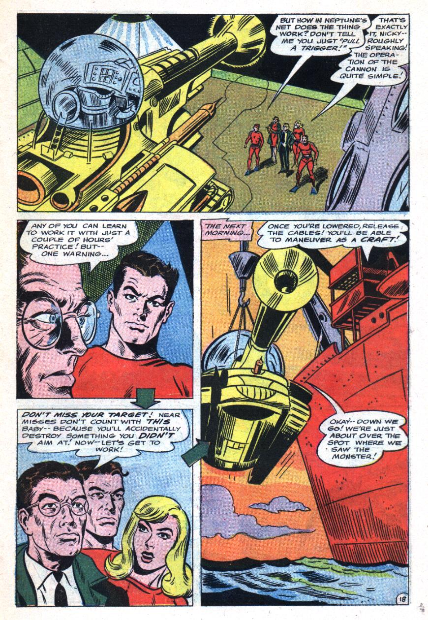 Read online Sea Devils comic -  Issue #31 - 24