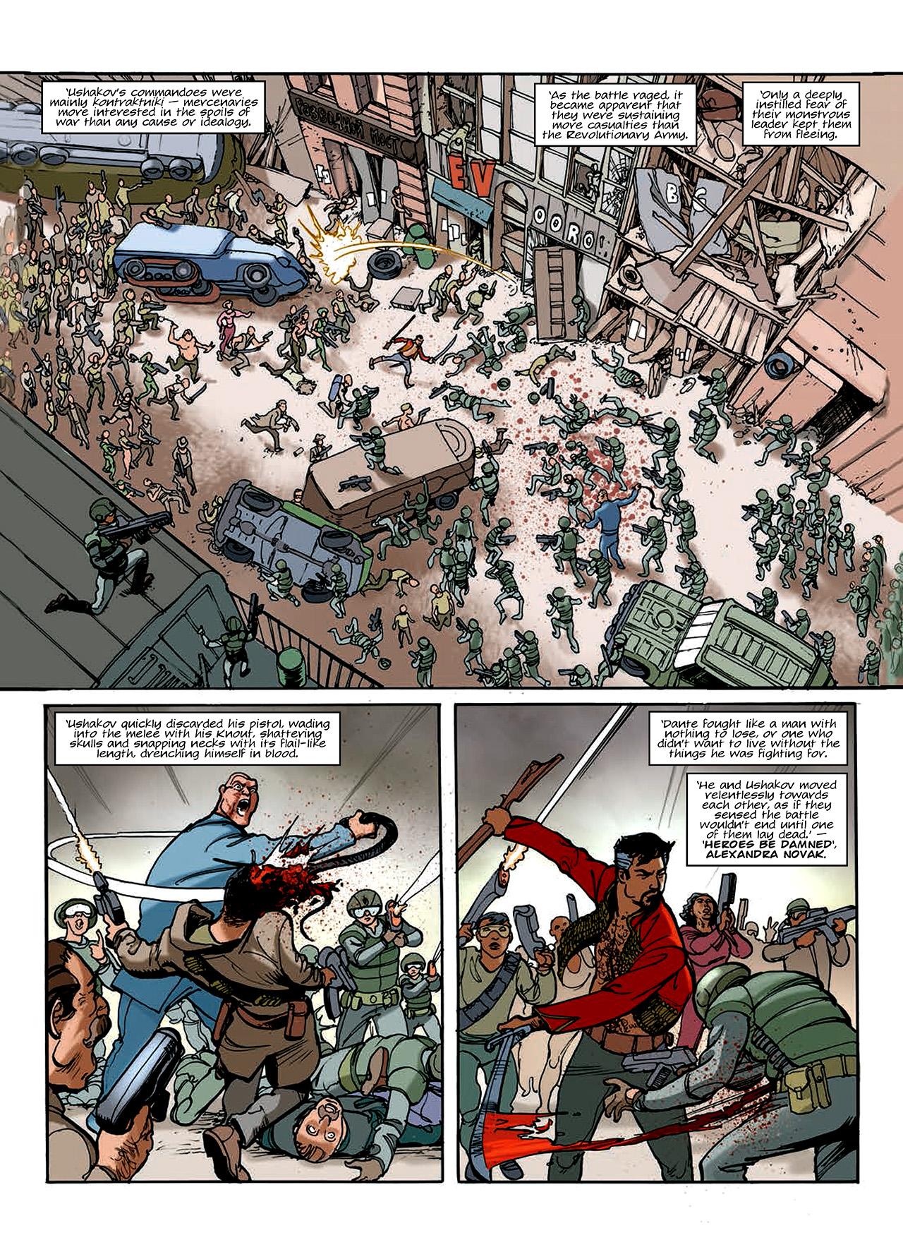Read online Nikolai Dante comic -  Issue # TPB 10 - 156